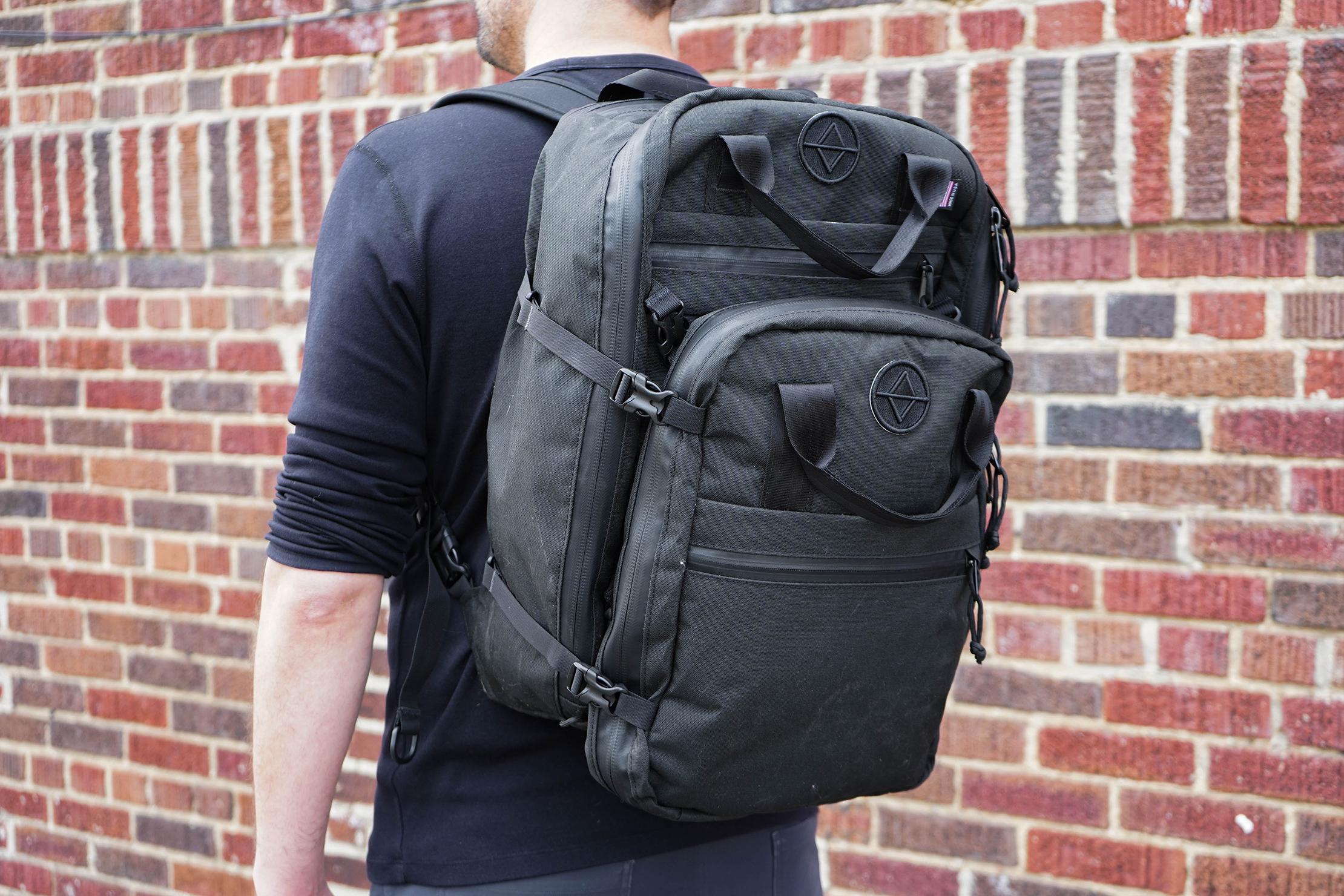 North St. Bags Weekender Meeting Bag Attached to Weekender Backpack