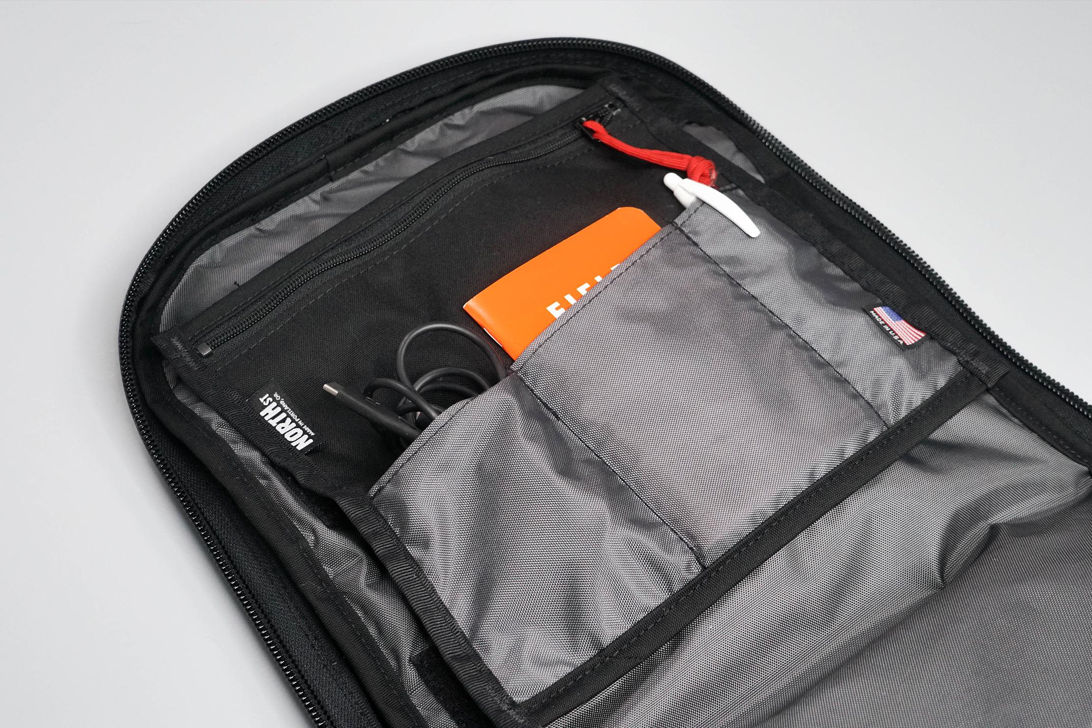North St. Bags Weekender Backpack Organization Panel