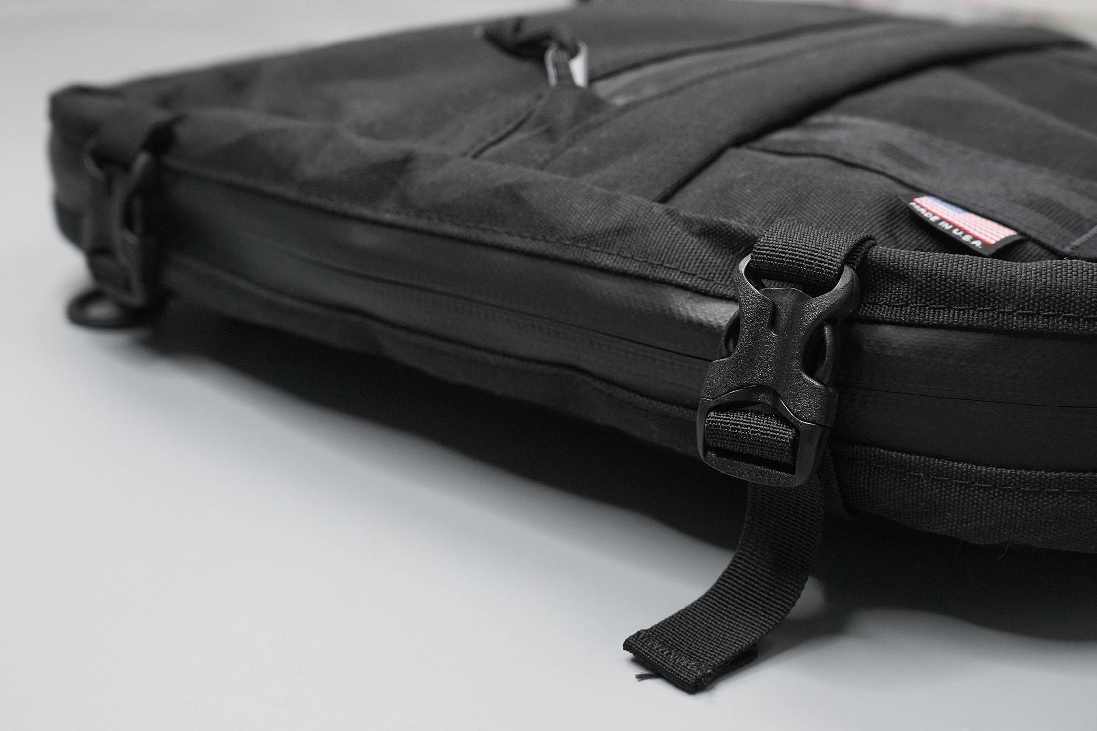 North St. Bags Weekender Meeting Bag Buckles