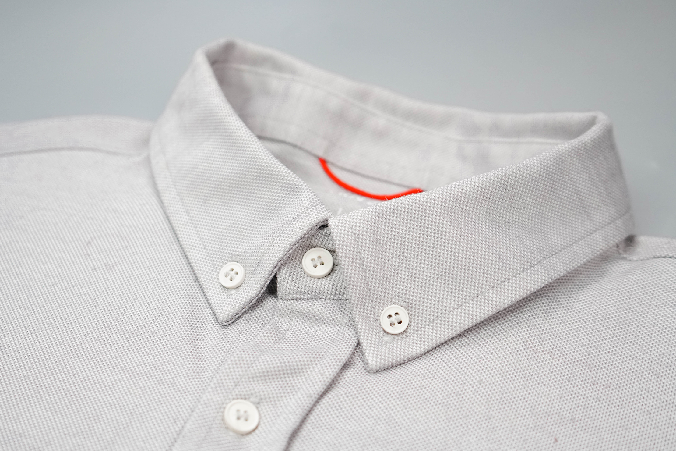 Western Rise Limitless Merino Button Down Shirt Collar
