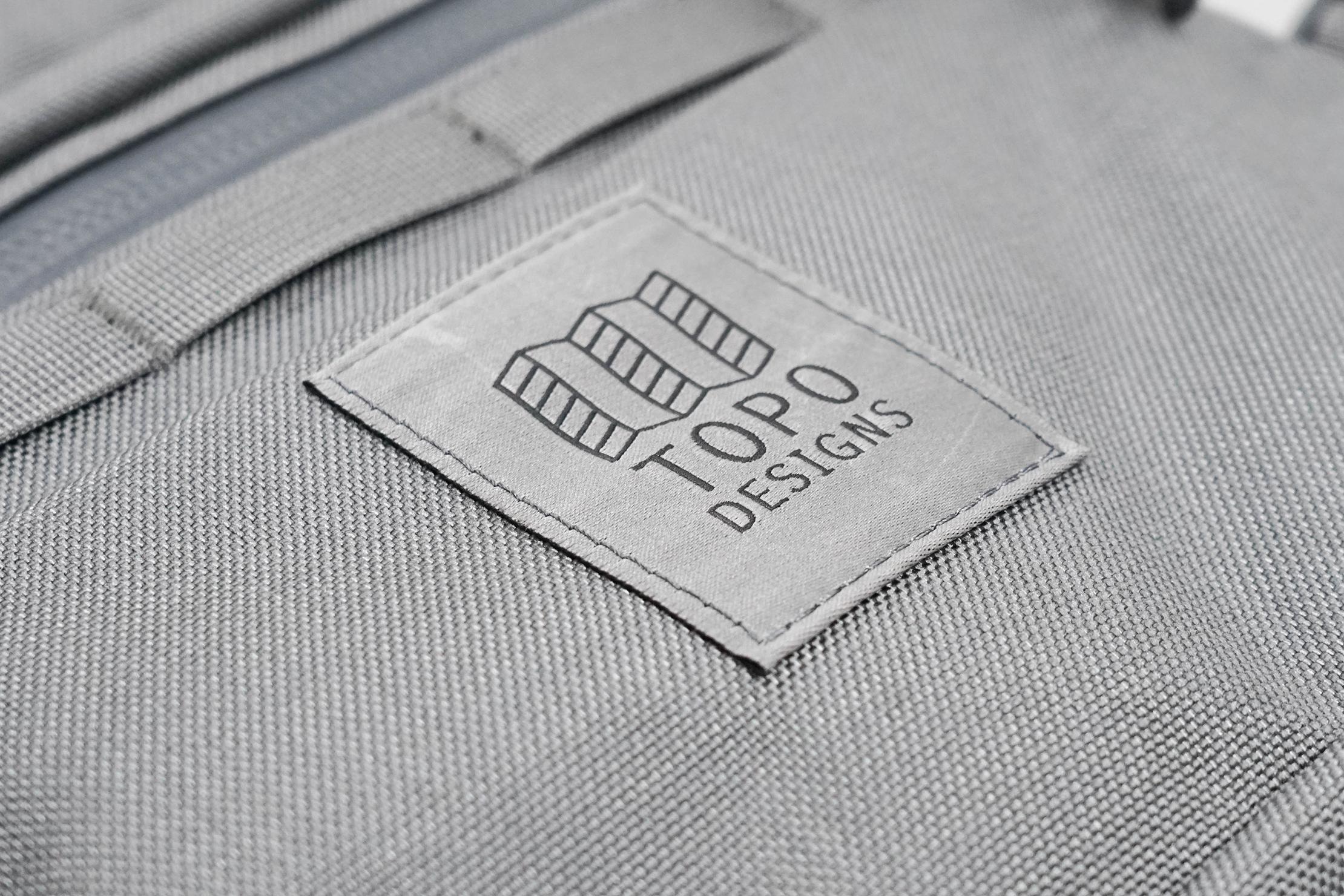 Topo Designs Rover Pack Tech Logo