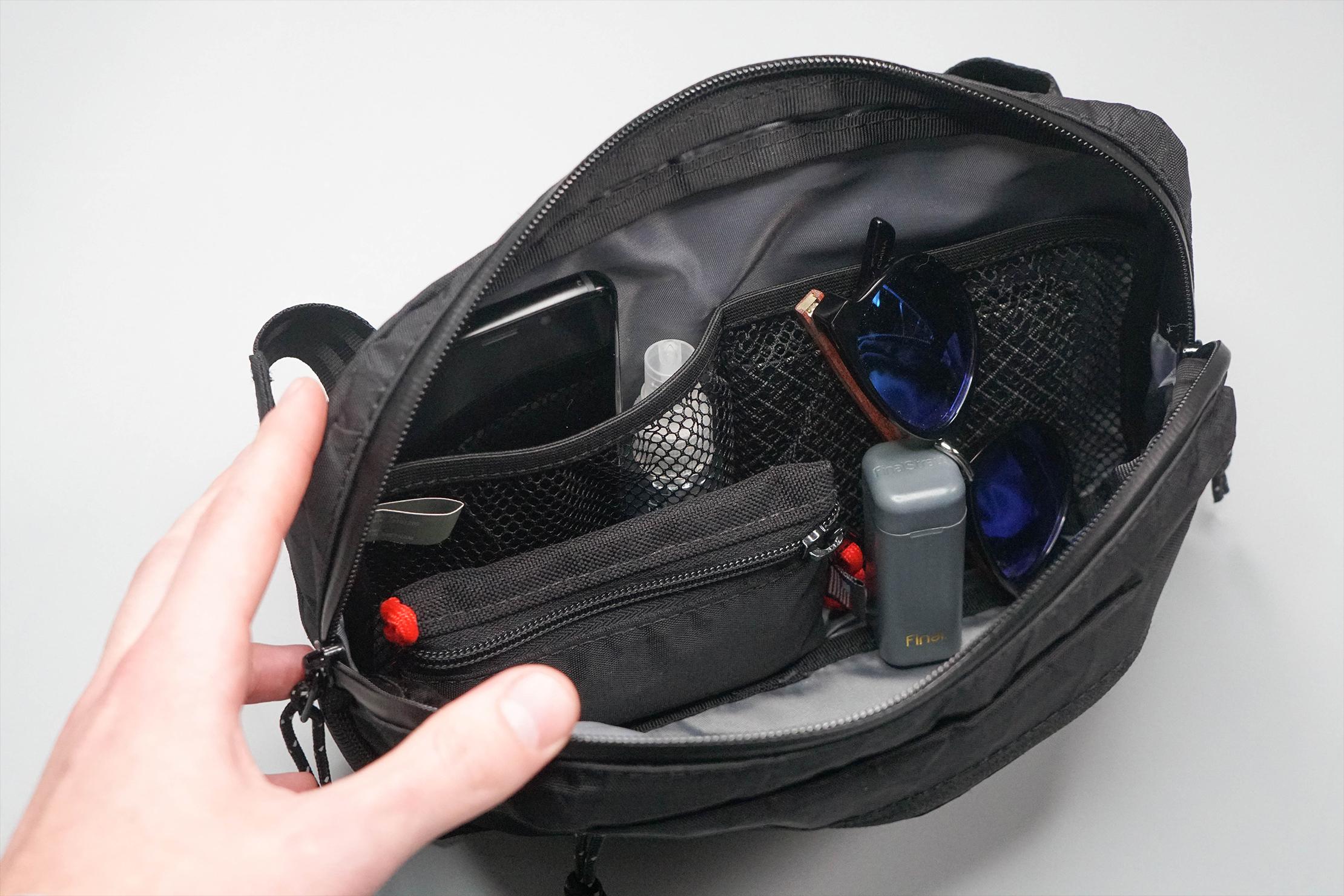 Chrome Industries Ziptop Waistpack Main Compartment