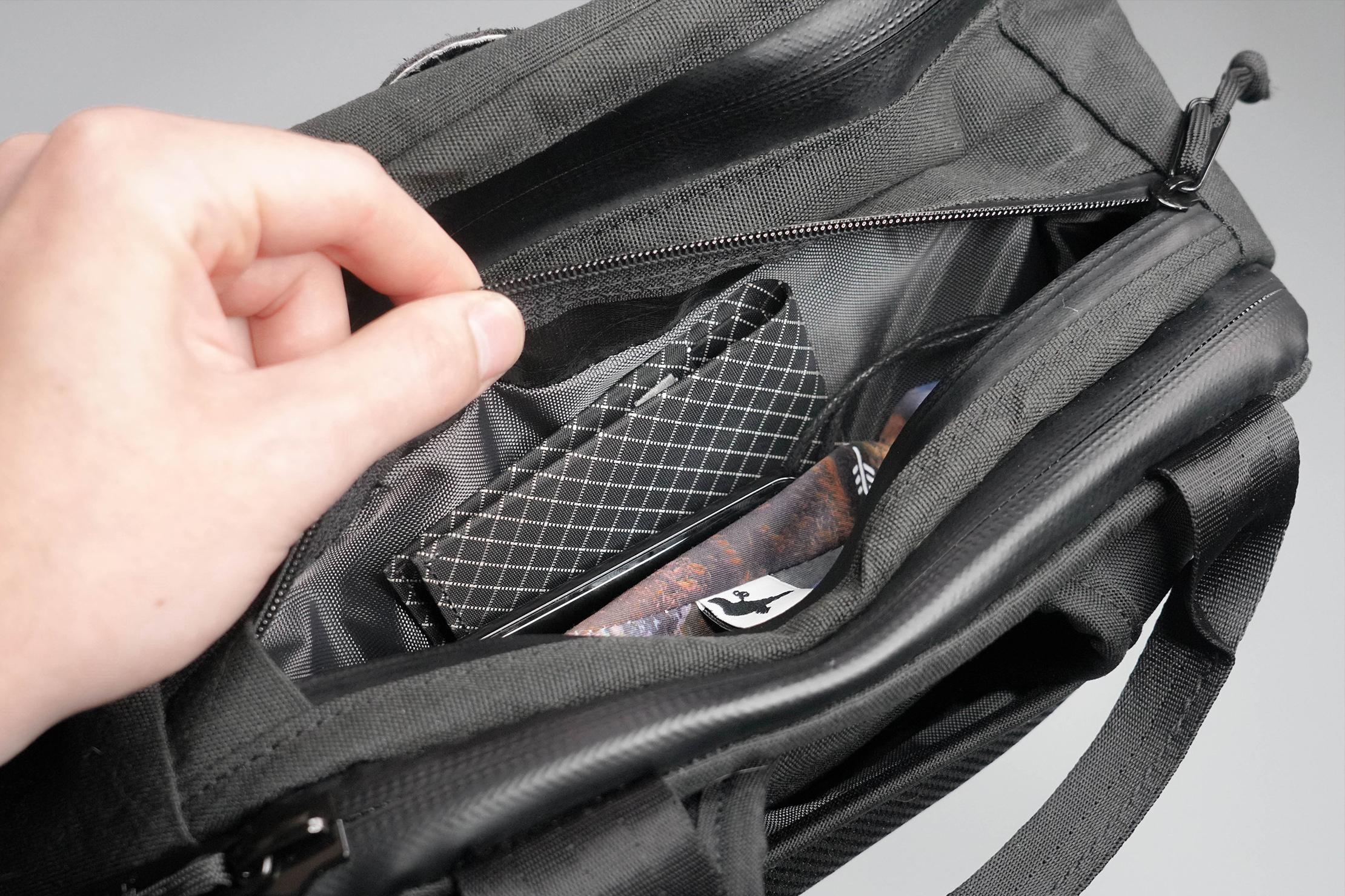 North St. Bags Weekender Backpack Top Quick-Grab Pocket