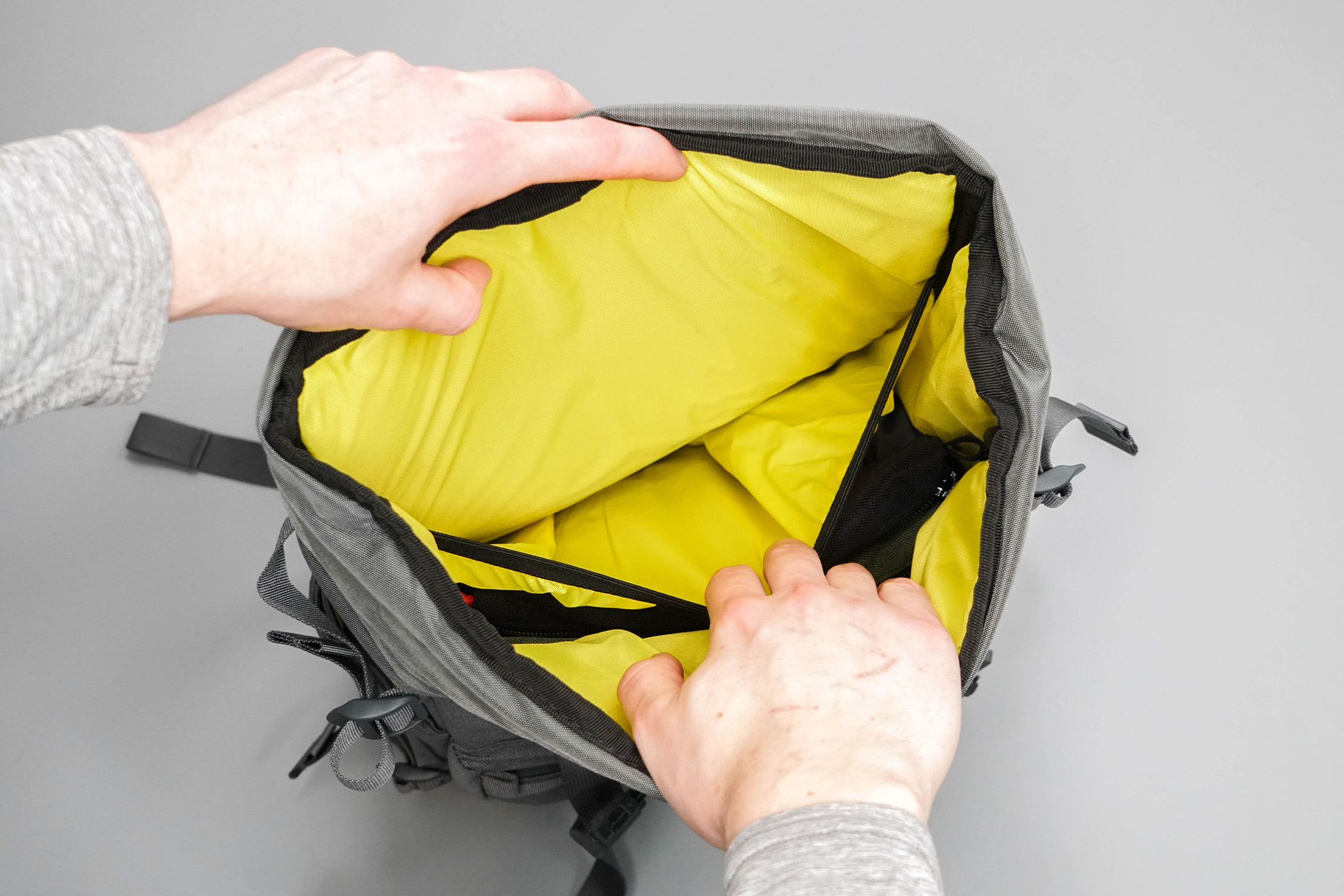 Topo Designs Rover Pack Tech Inside Sleeve