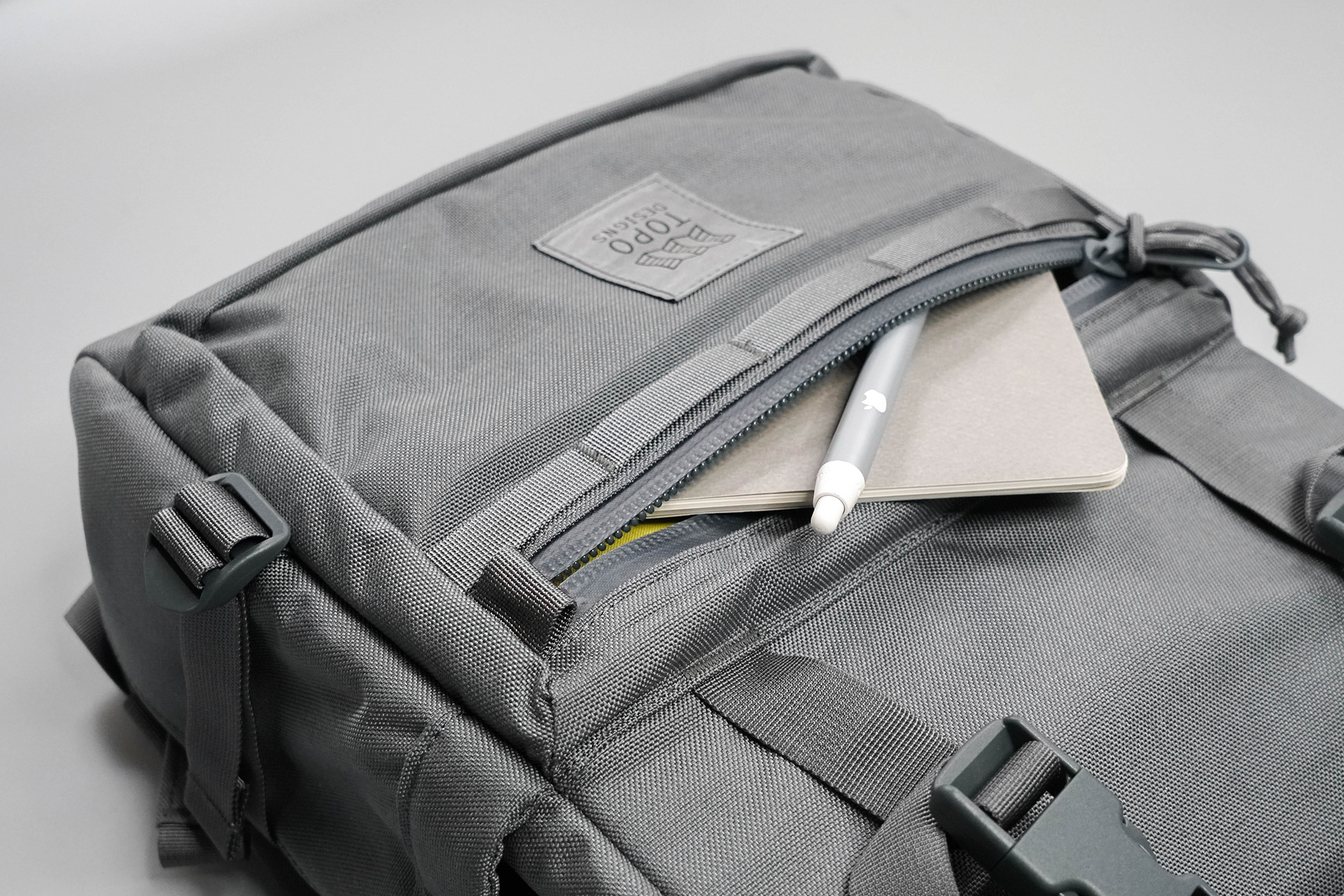 Topo Designs Rover Pack Tech Front Pocket