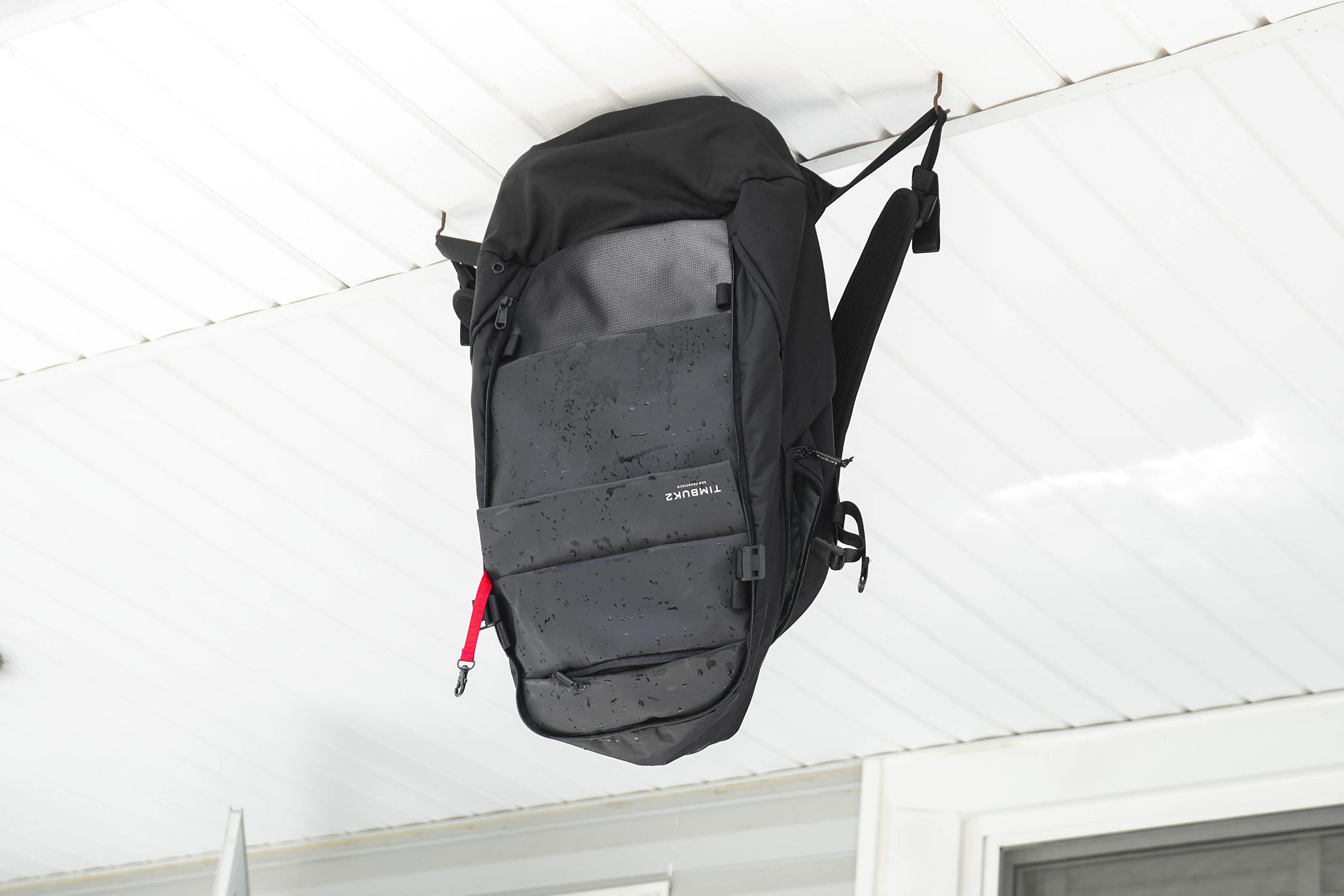 Hanging Backpack to Dry