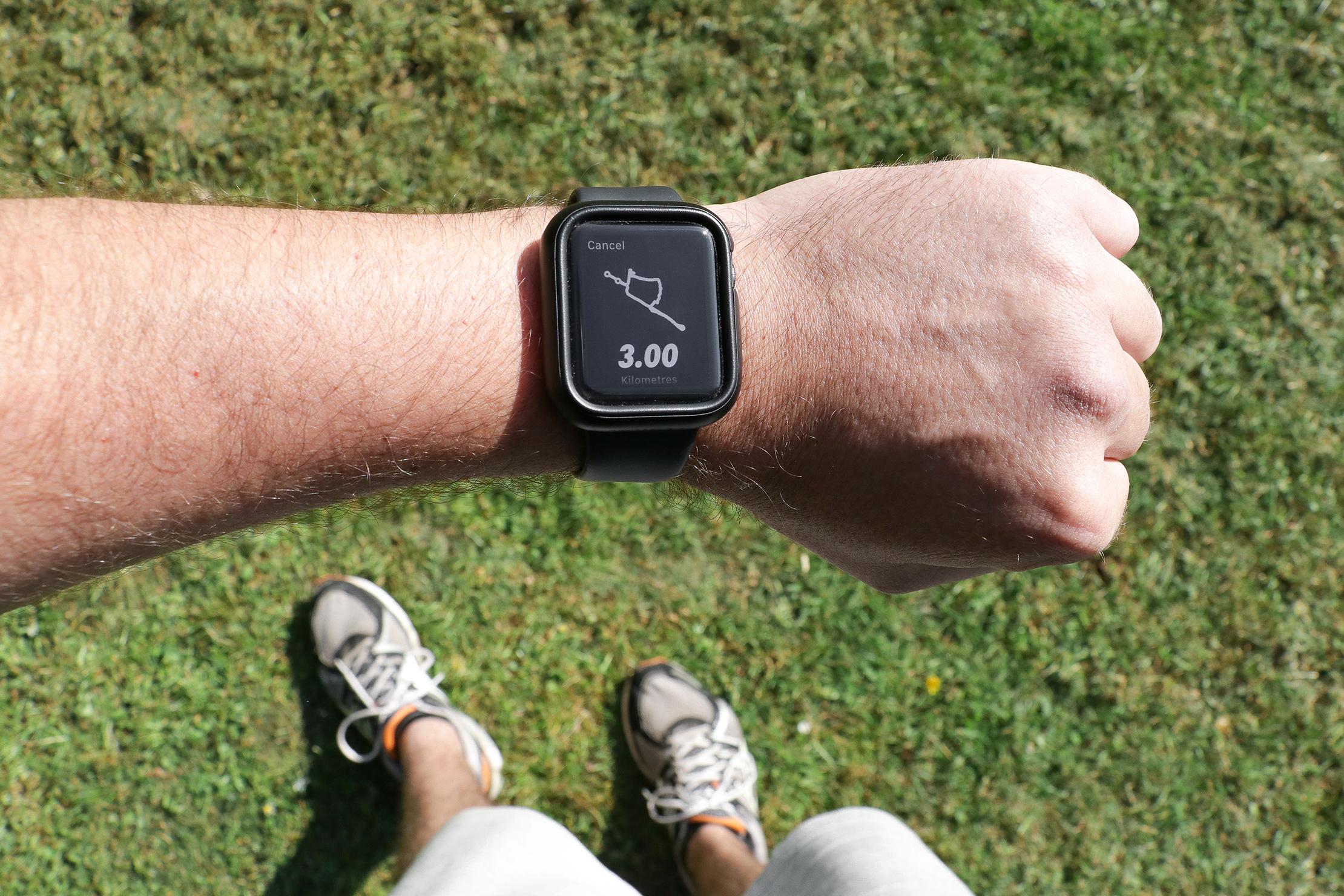 Apple Watch And Nike Run Club App