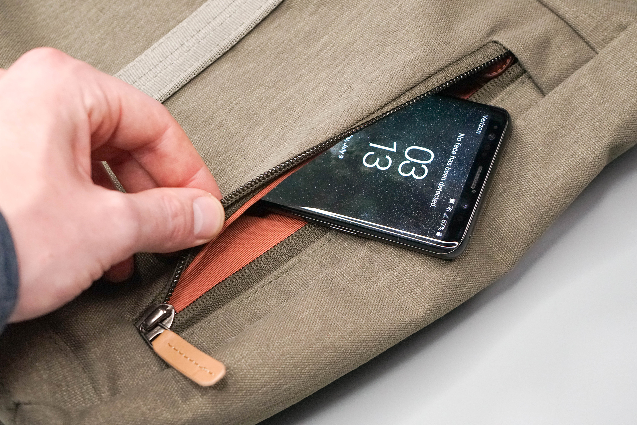 Bellroy Classic Tote Front Pocket