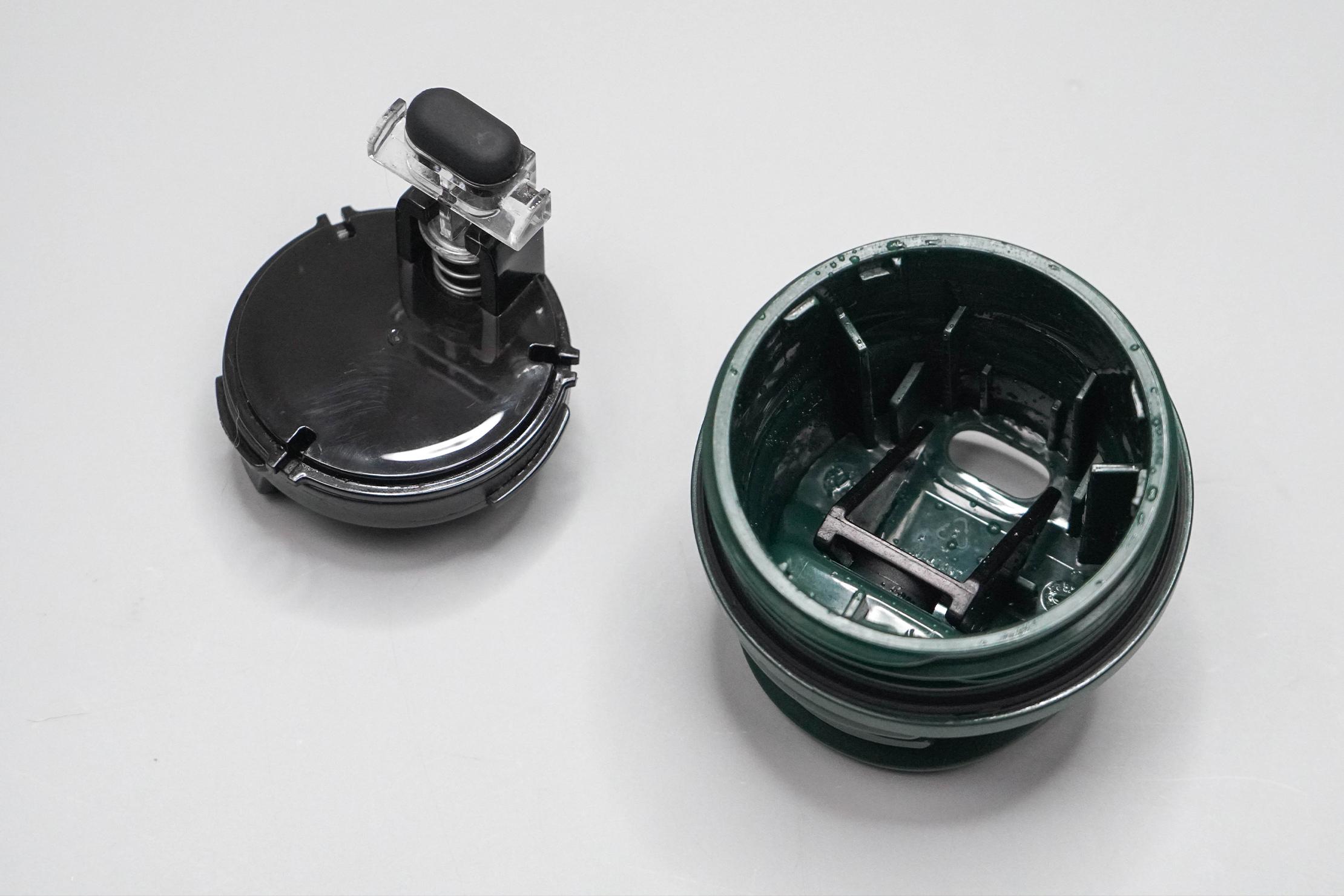 Stanley Classic Trigger-Action Travel Mug 12oz Cap Apart