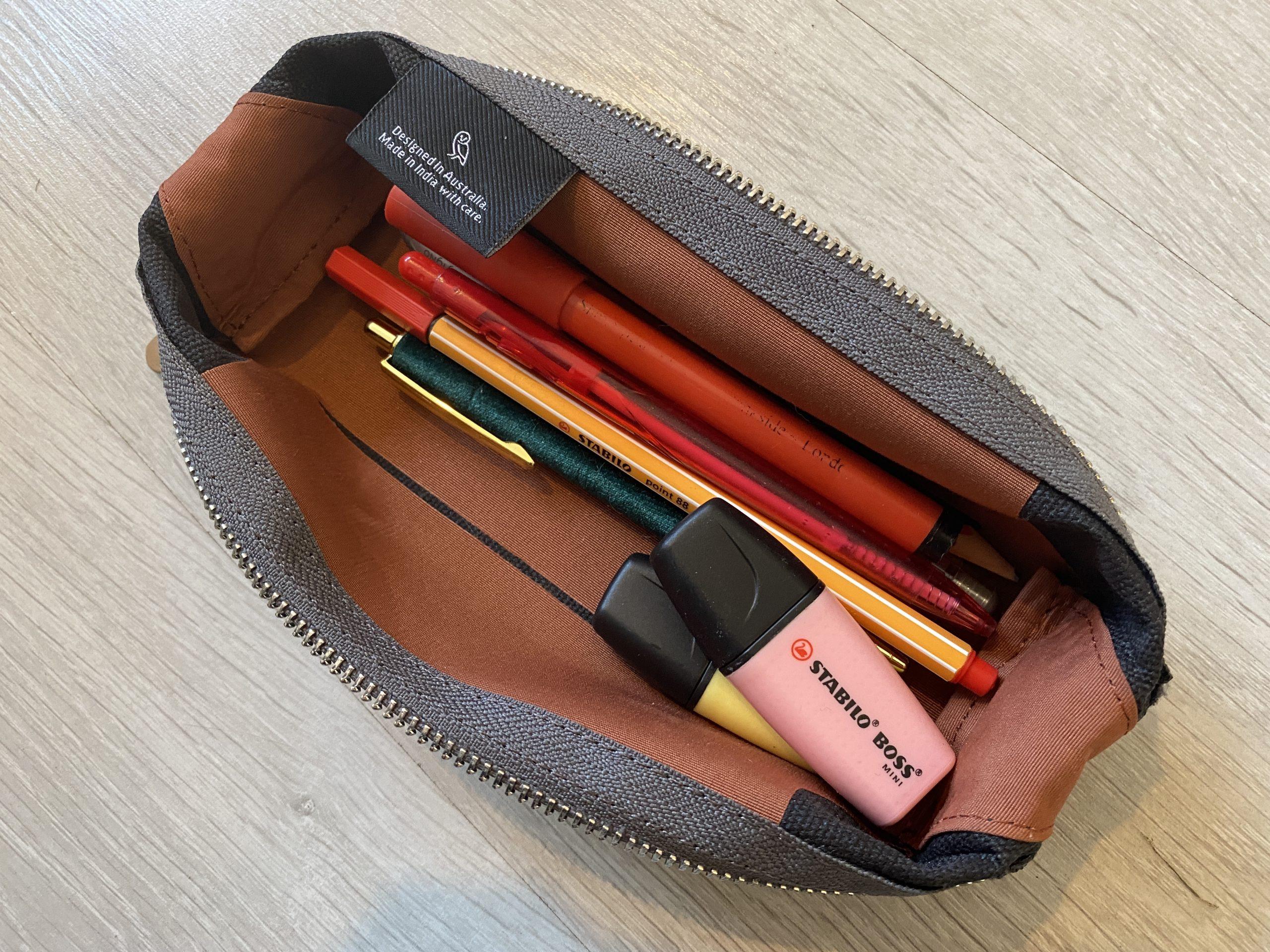 Bellroy Pencil Case Review Tray Mode