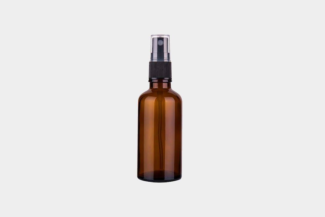 Gener 2 oz Amber Glass Spray Bottle