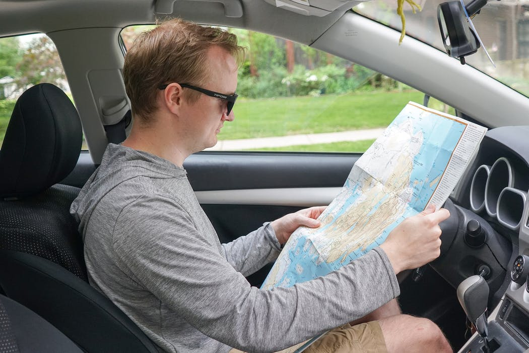 Reading A Map | Road Trip Guide