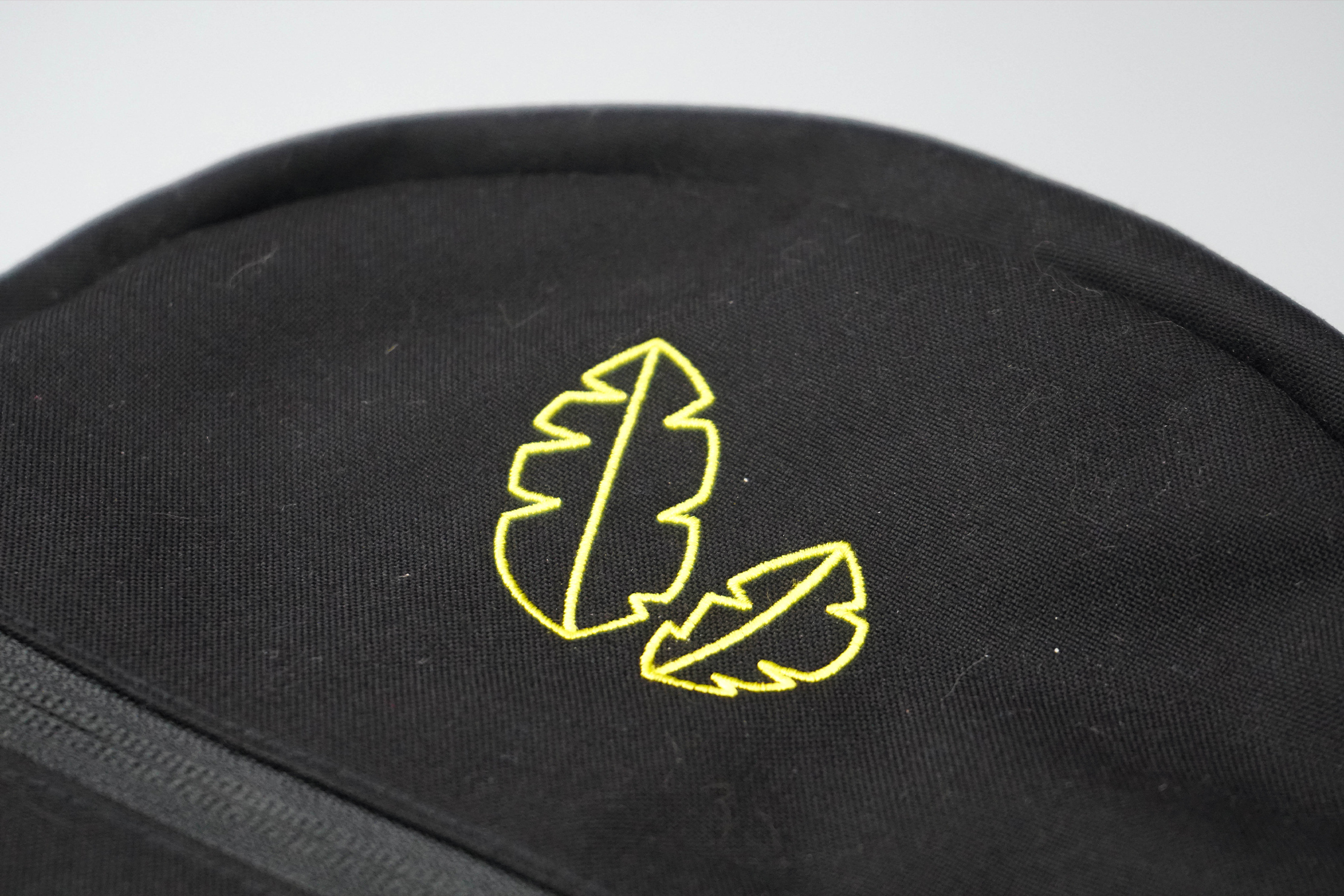 Banana Backpacks Kiri Material and Logo