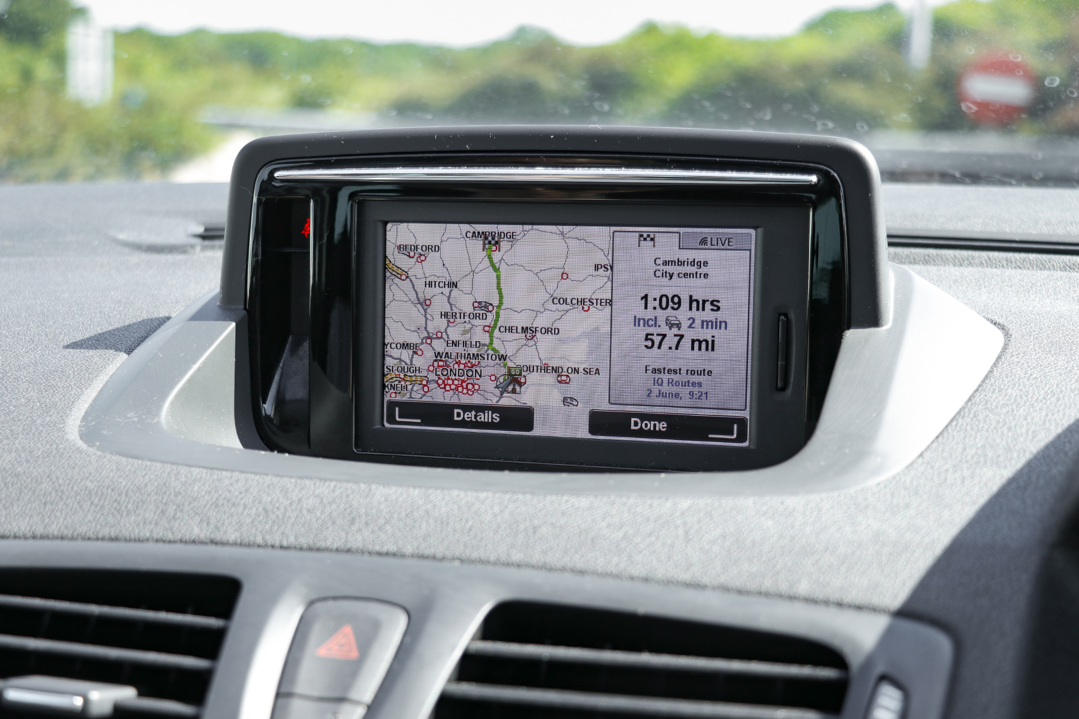 Car Navigation Road Trip Guide