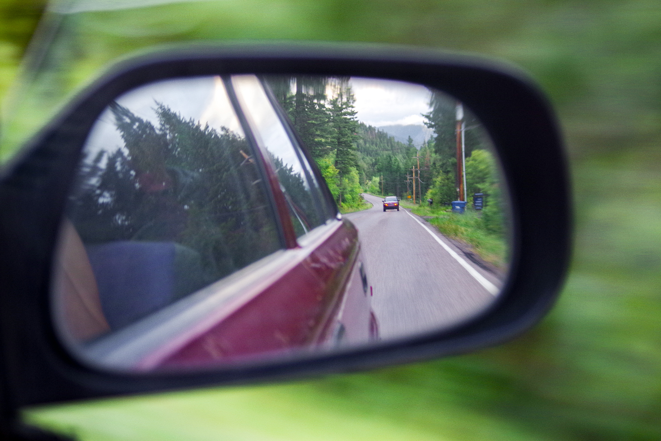 View From A Rear-View Mirror Road Trip Guide