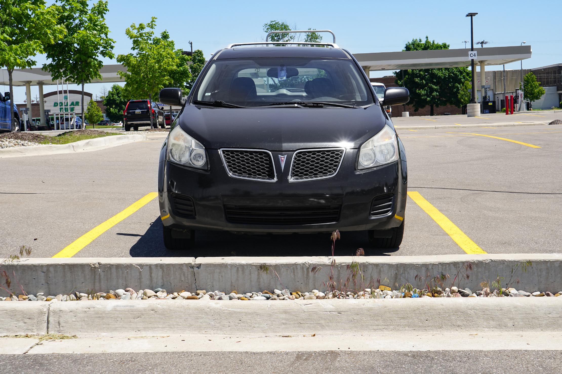 Car In Parking Lot Road Trip Guide
