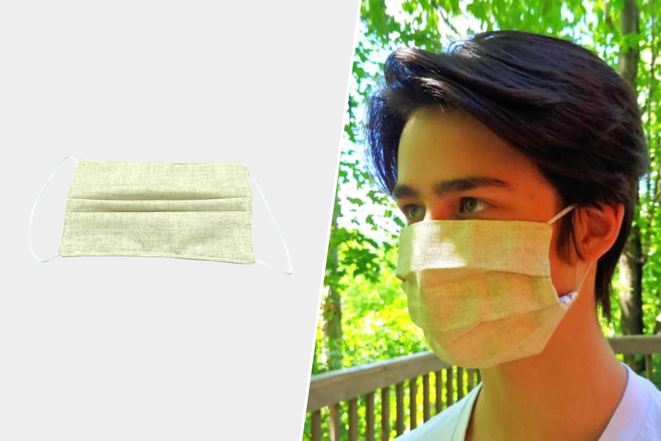 Life Without Plastic Cotton & Linen Face Mask
