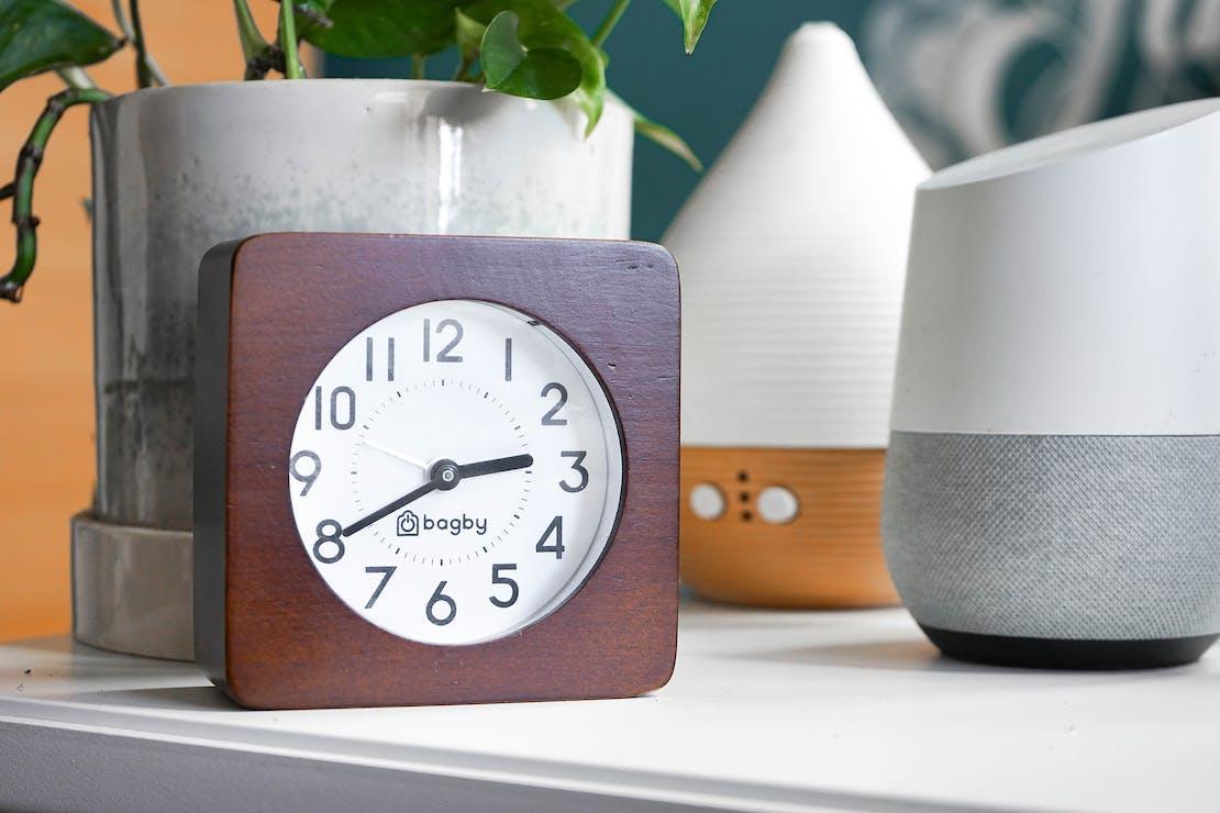 Bagby Silent Digital-Free Alarm Clock