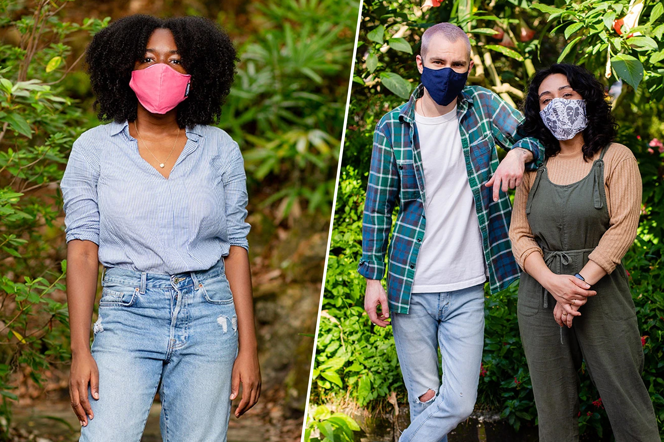 North St. Bags Cotton Face Masks