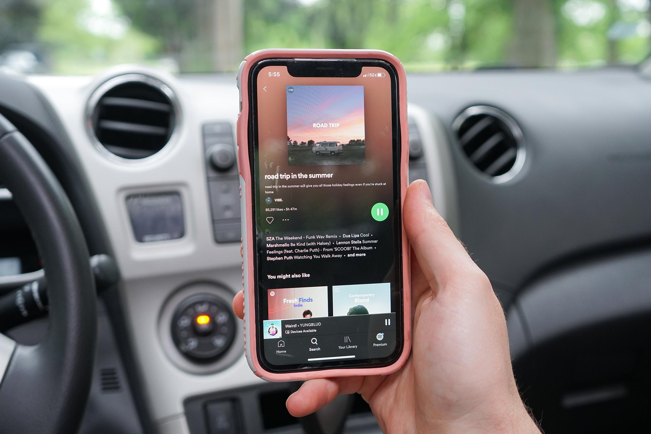Road Trip Playlist On Spotify