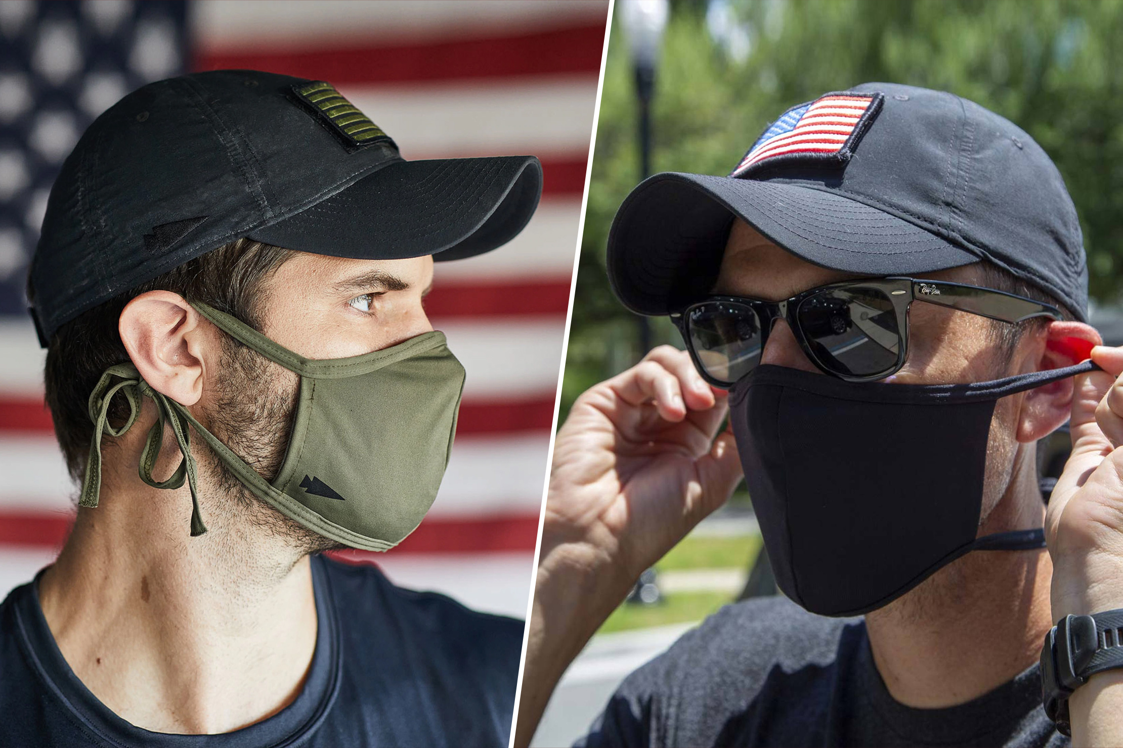 GORUCK Face Mask With Filter Pocket
