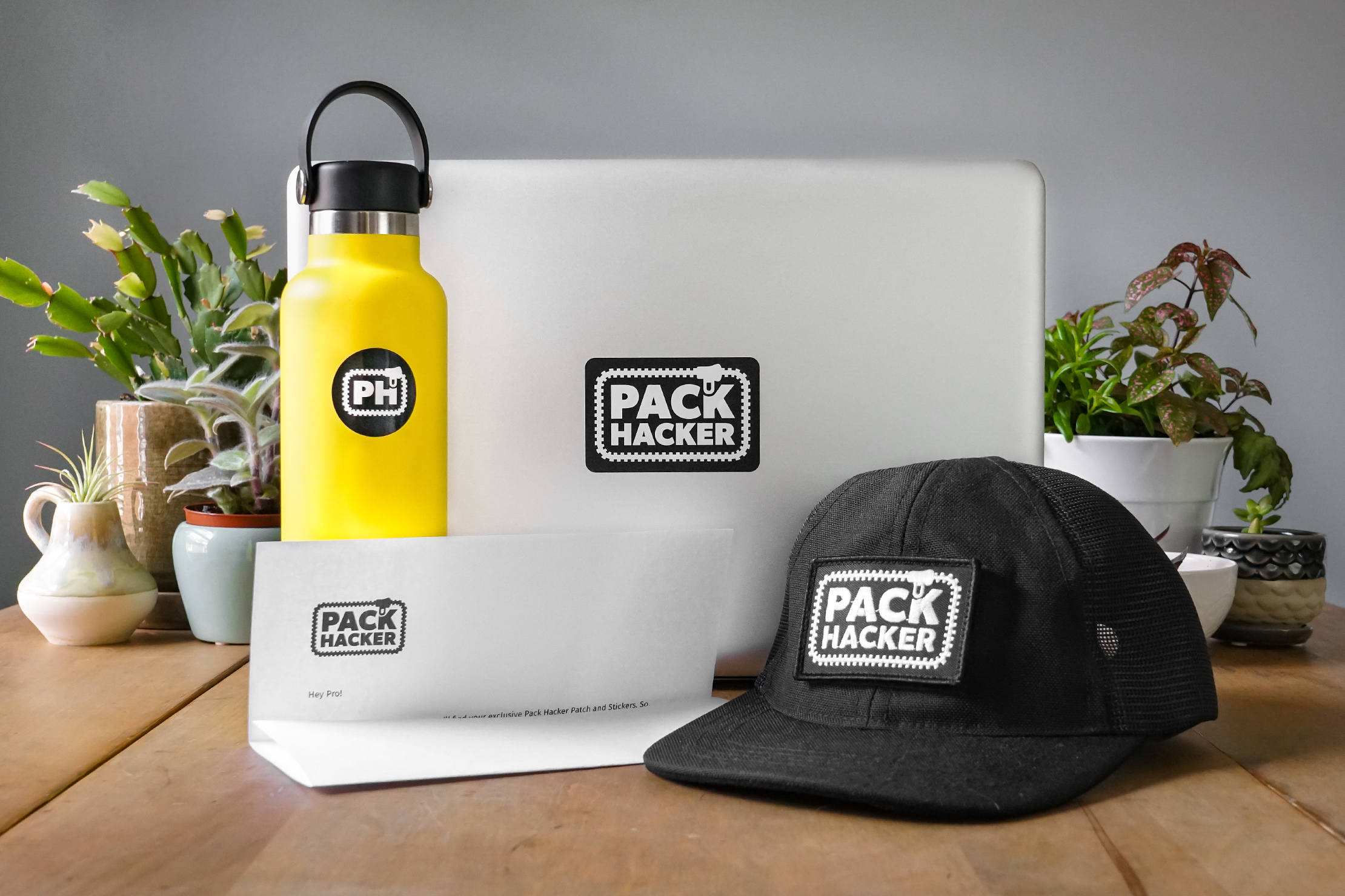 Pack Hacker Pro Welcome Kit Usage