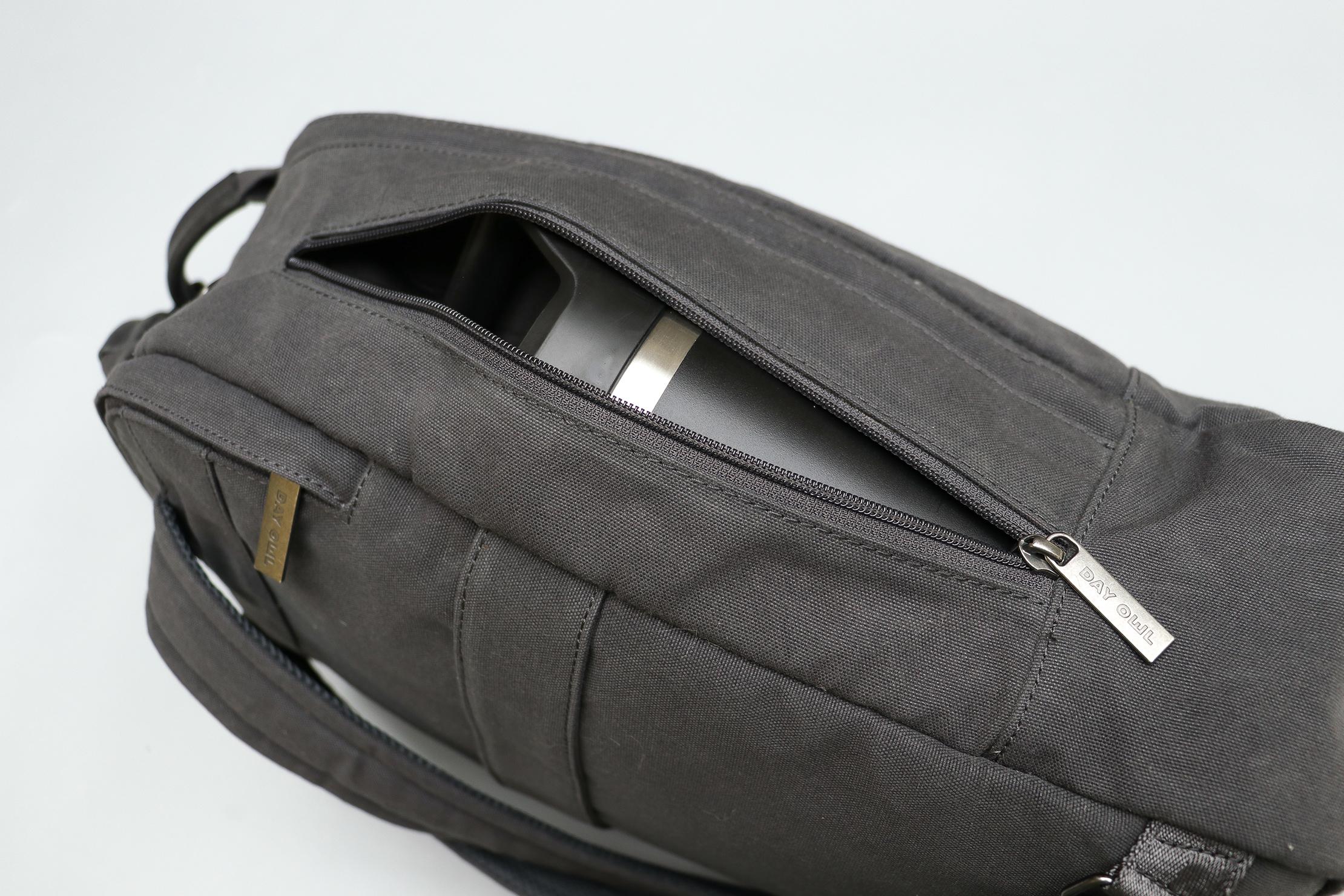 Day Owl Backpack Water Bottle Pocket
