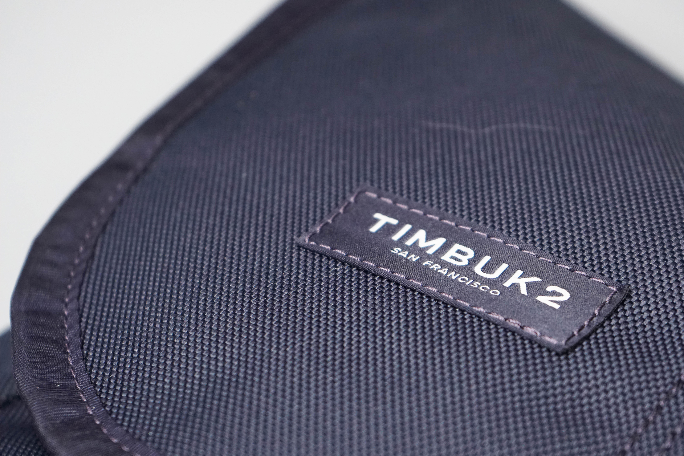 Timbuk2 Classic Messenger Bag Material and Logo