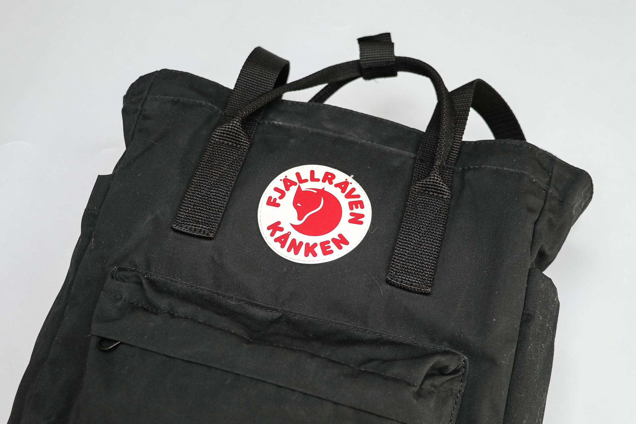 Fjallraven Kanken Totepack Material & Logo