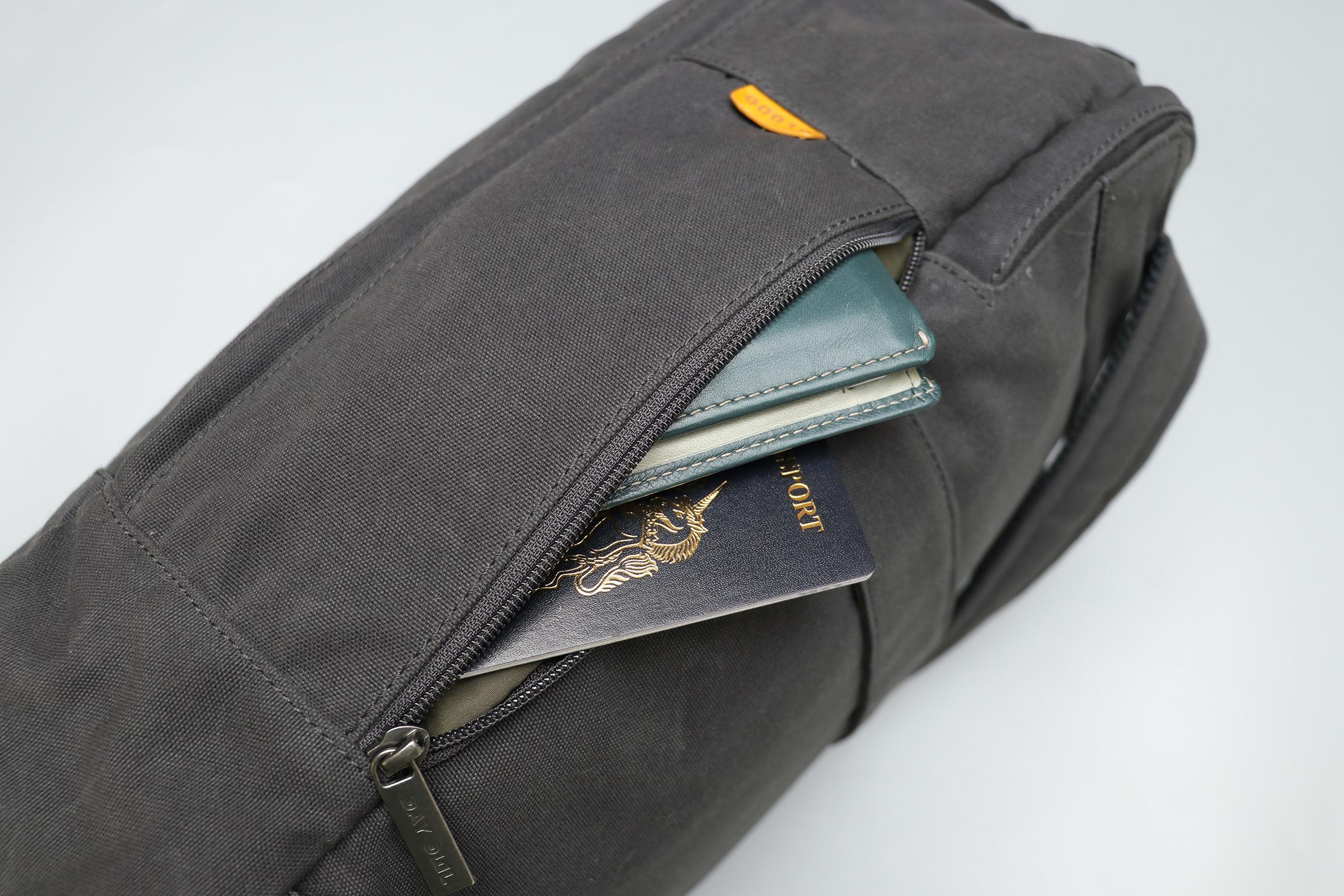 Day Owl Backpack Side Pocket