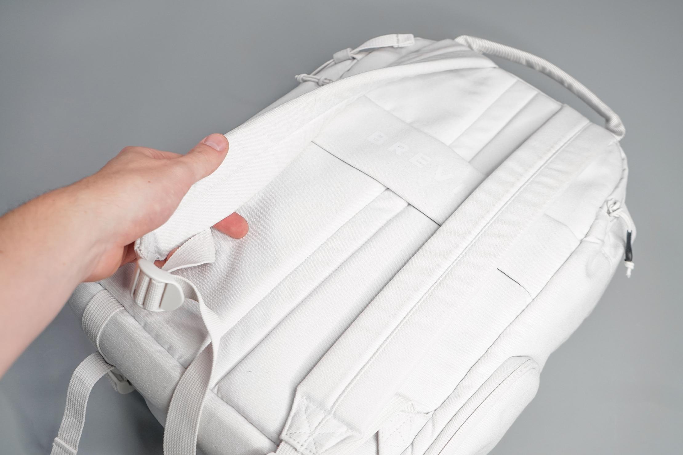 Brevitē Jumper Photo Backpack Shoulder Straps and Back Panel