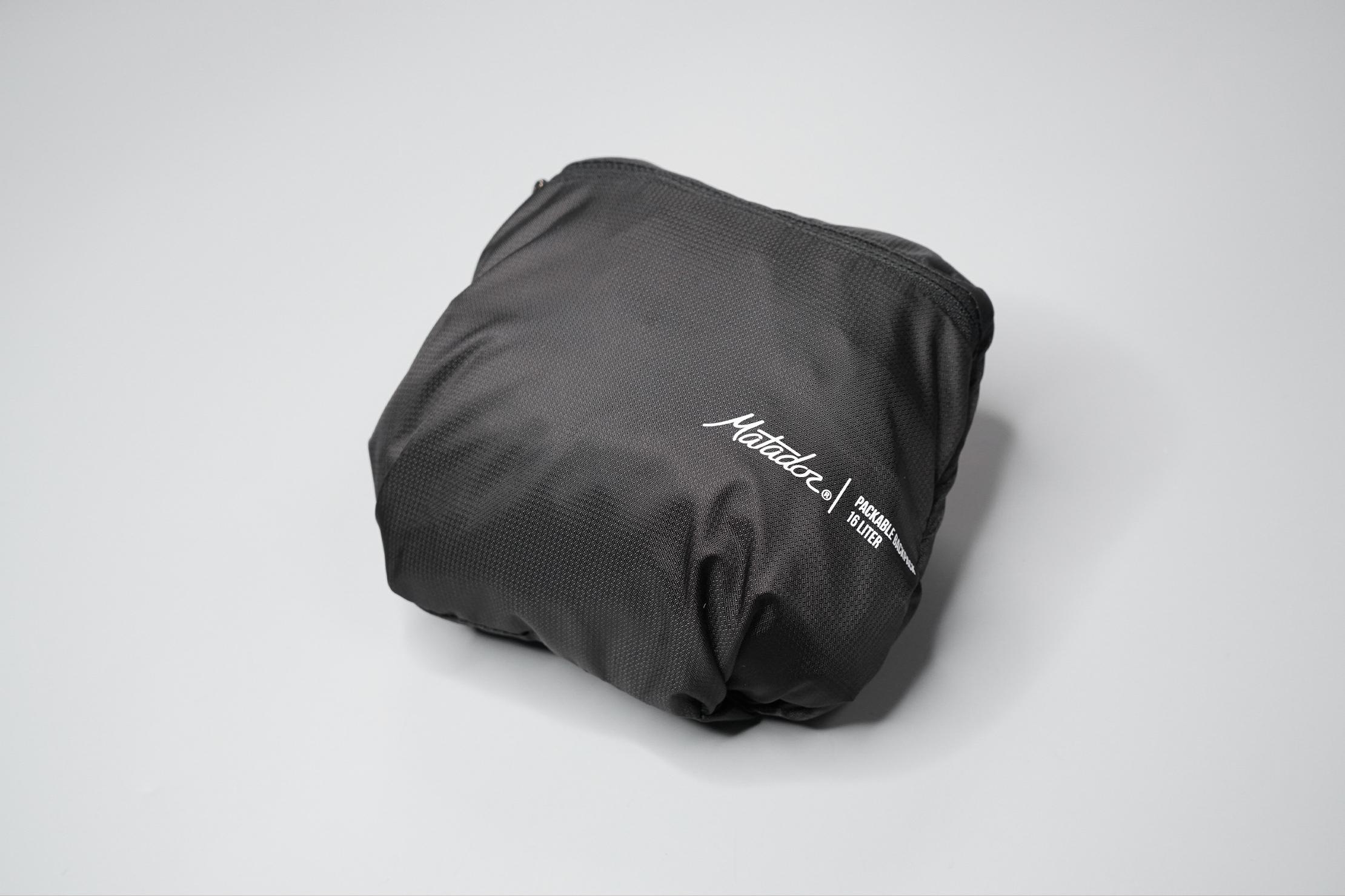Matador On-Grid Packable Backpack Compressed