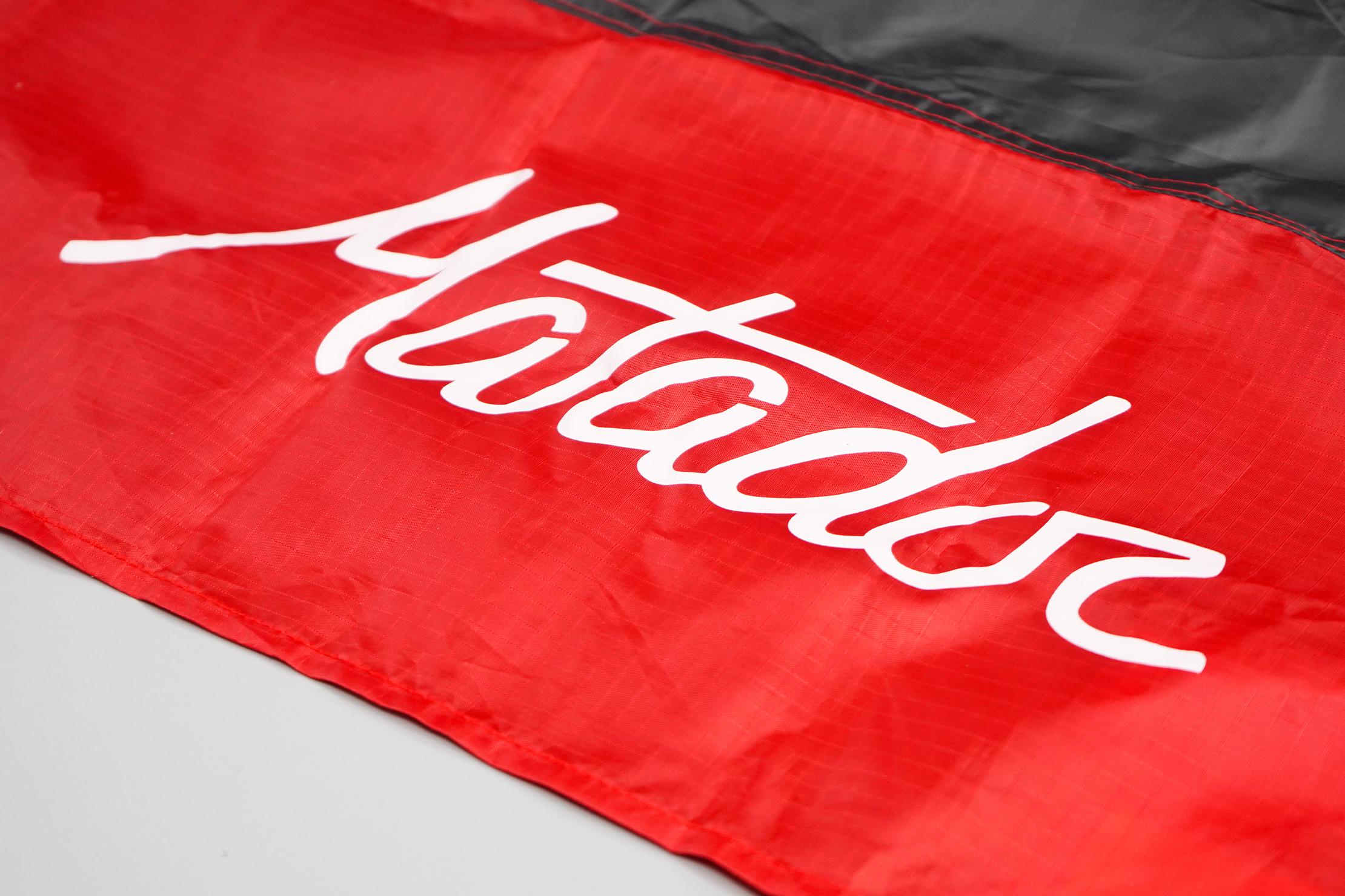 Matador Pocket Blanket 2.0 Material and Logo