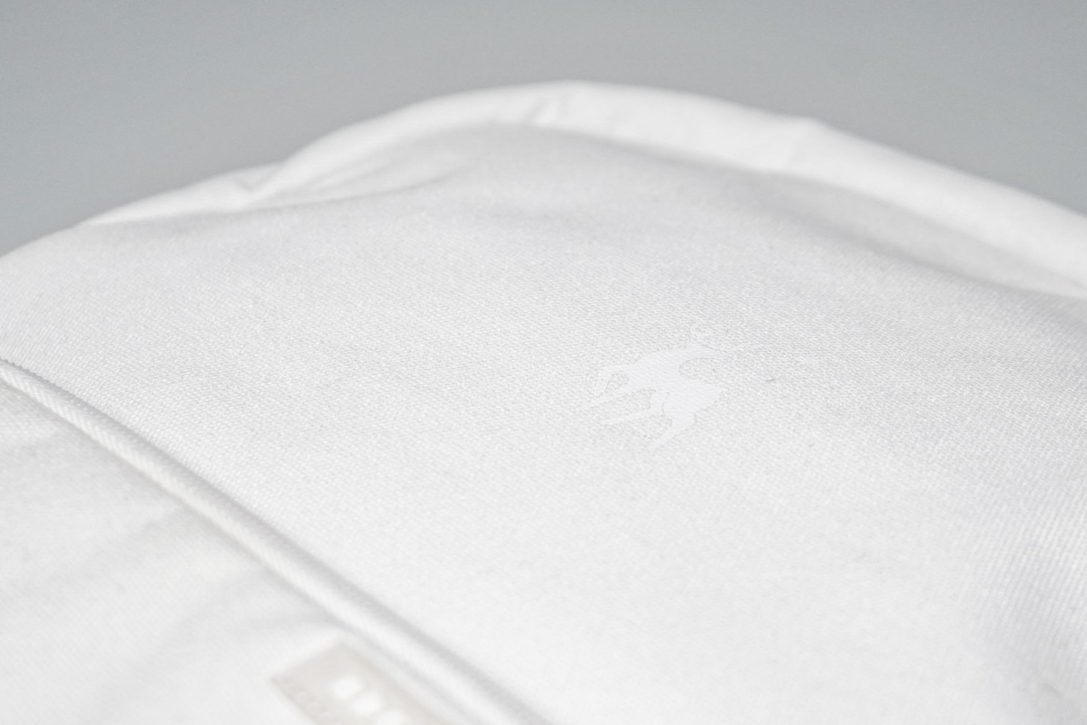 Brevitē Jumper Photo Backpack Material and Logo