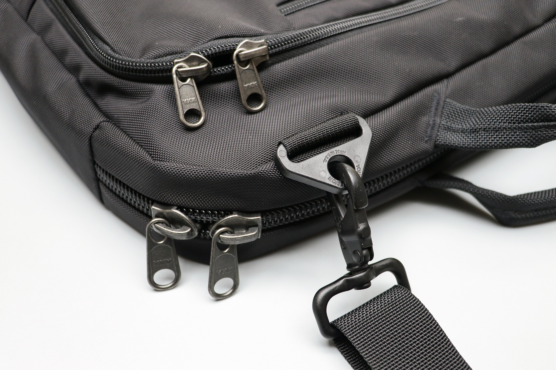 Tom Bihn Cadet Zippers and Hardware