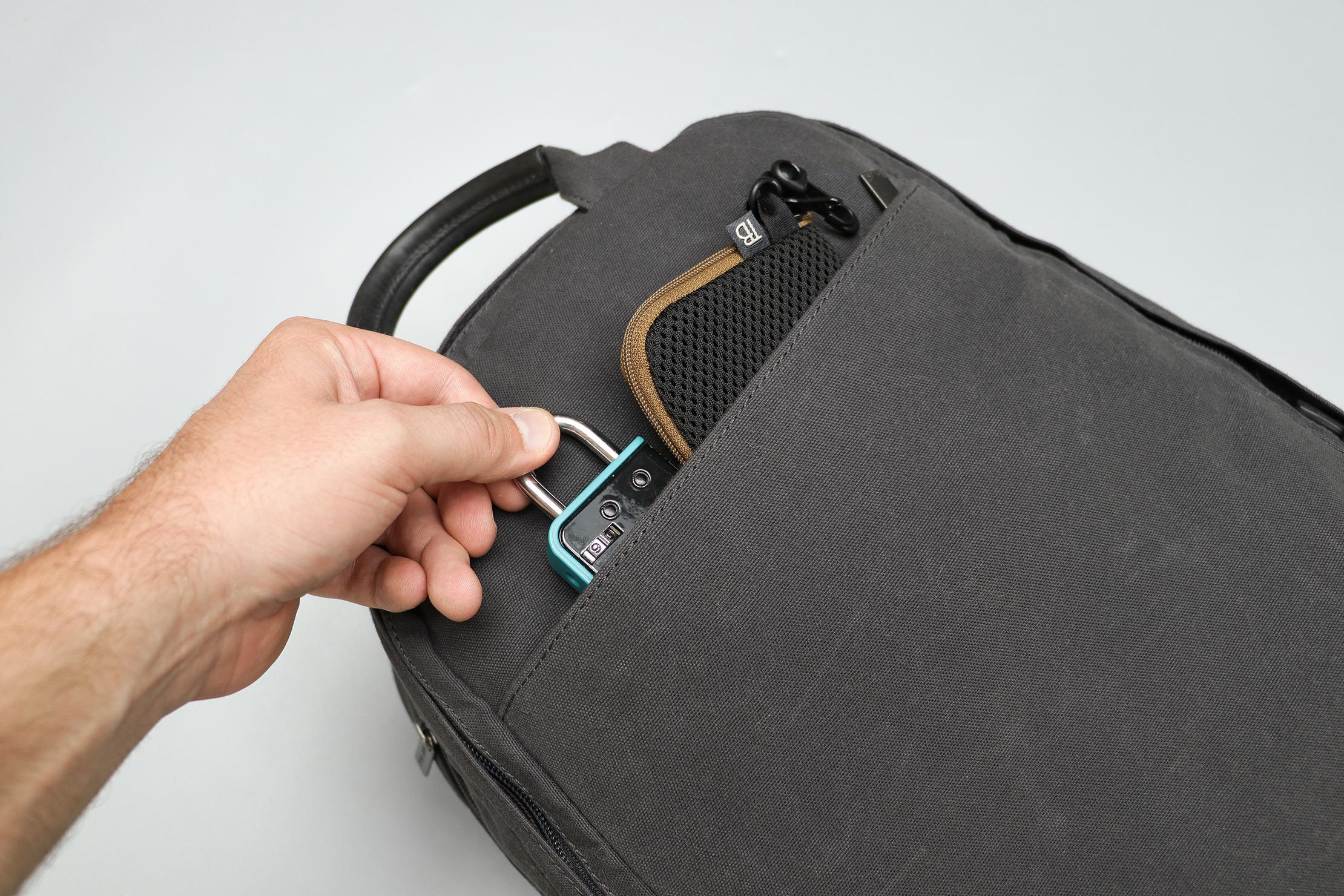 Day Owl Backpack Front Pocket