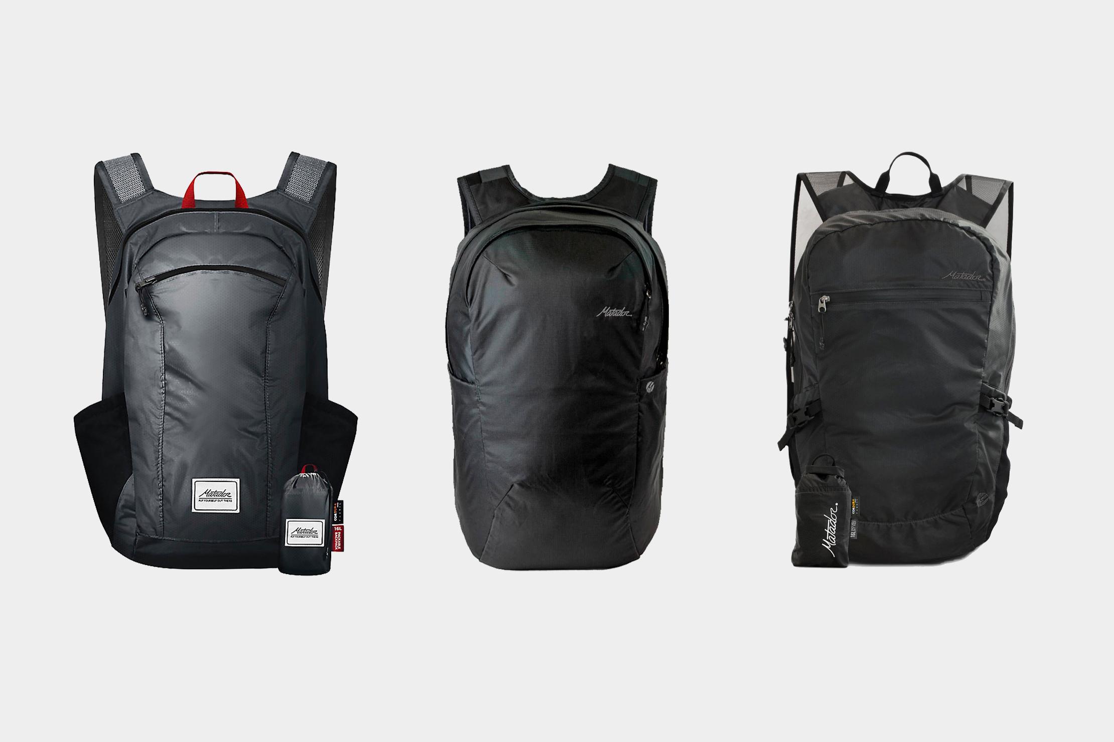Matador On-Grid Packable Backpack Comparison