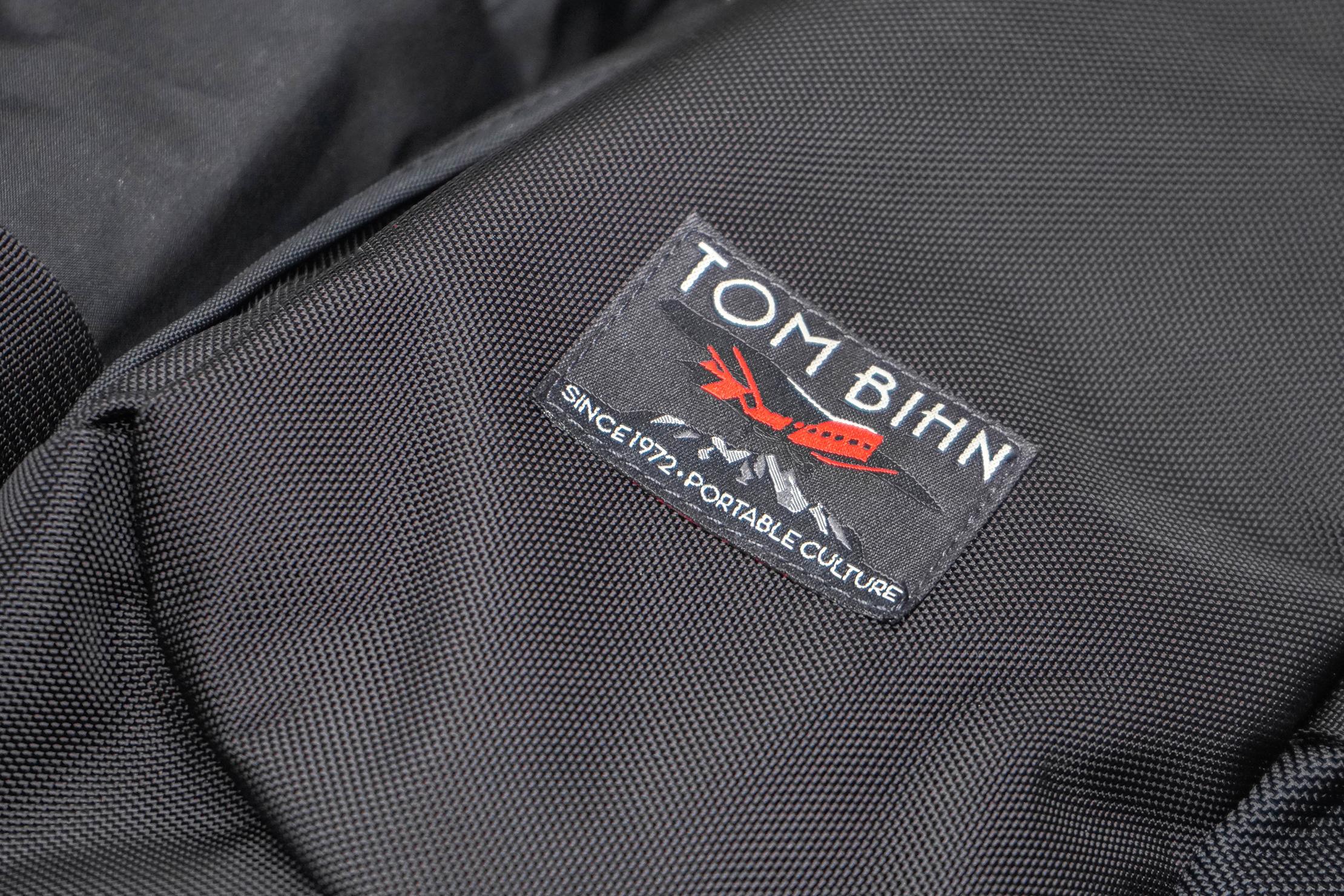 Tom Bihn Brain Bag Material and Logo