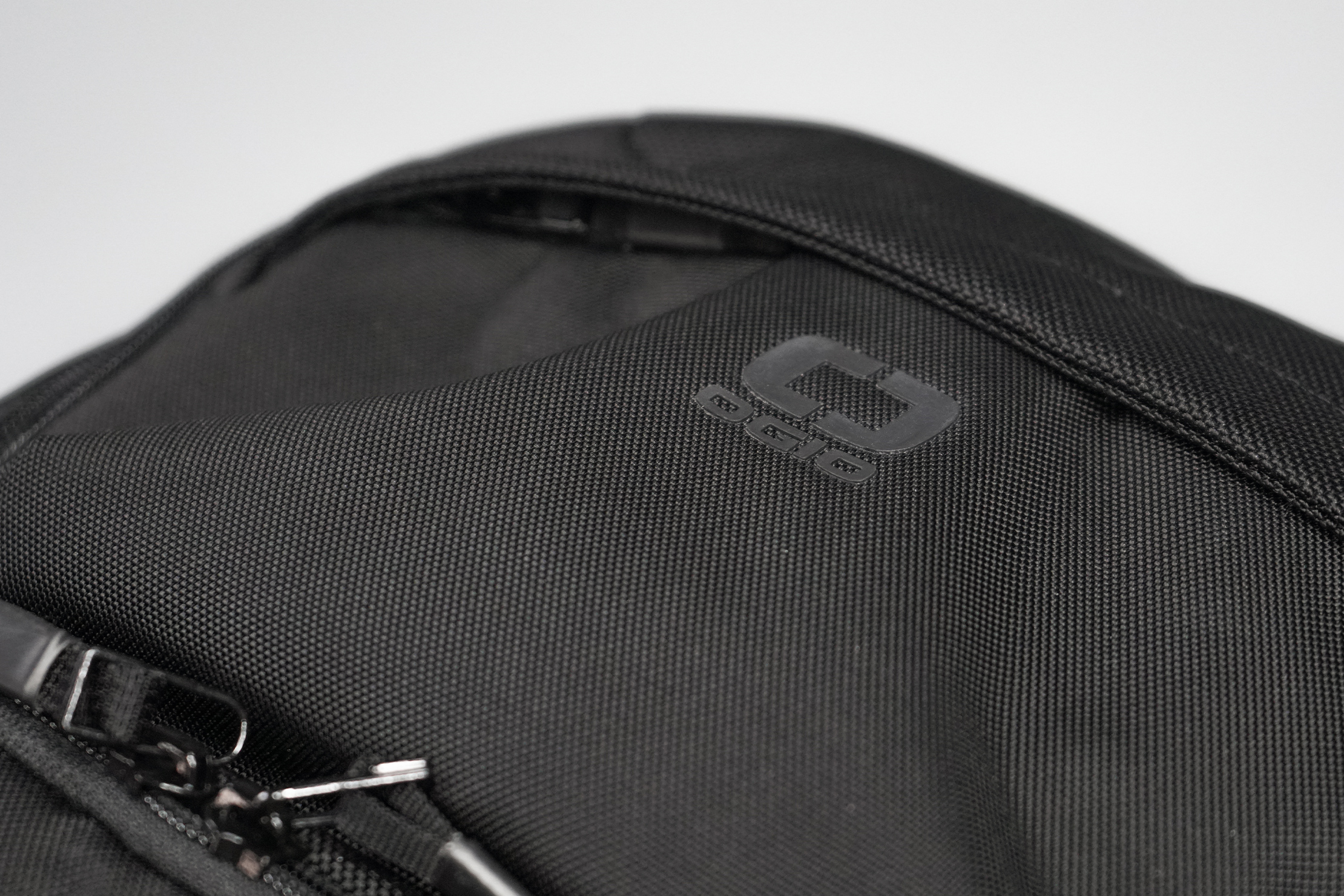 Ogio Pace 25 Backpack Material and Logo