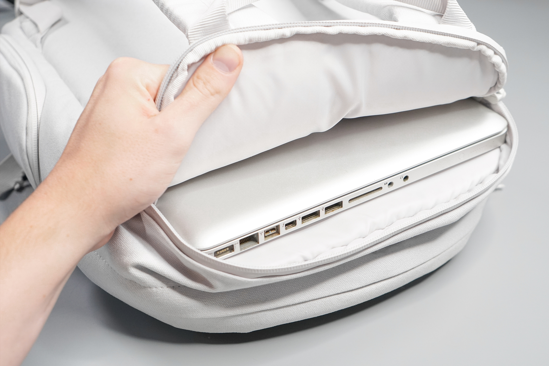 Brevitē Jumper Photo Backpack Laptop Compartment