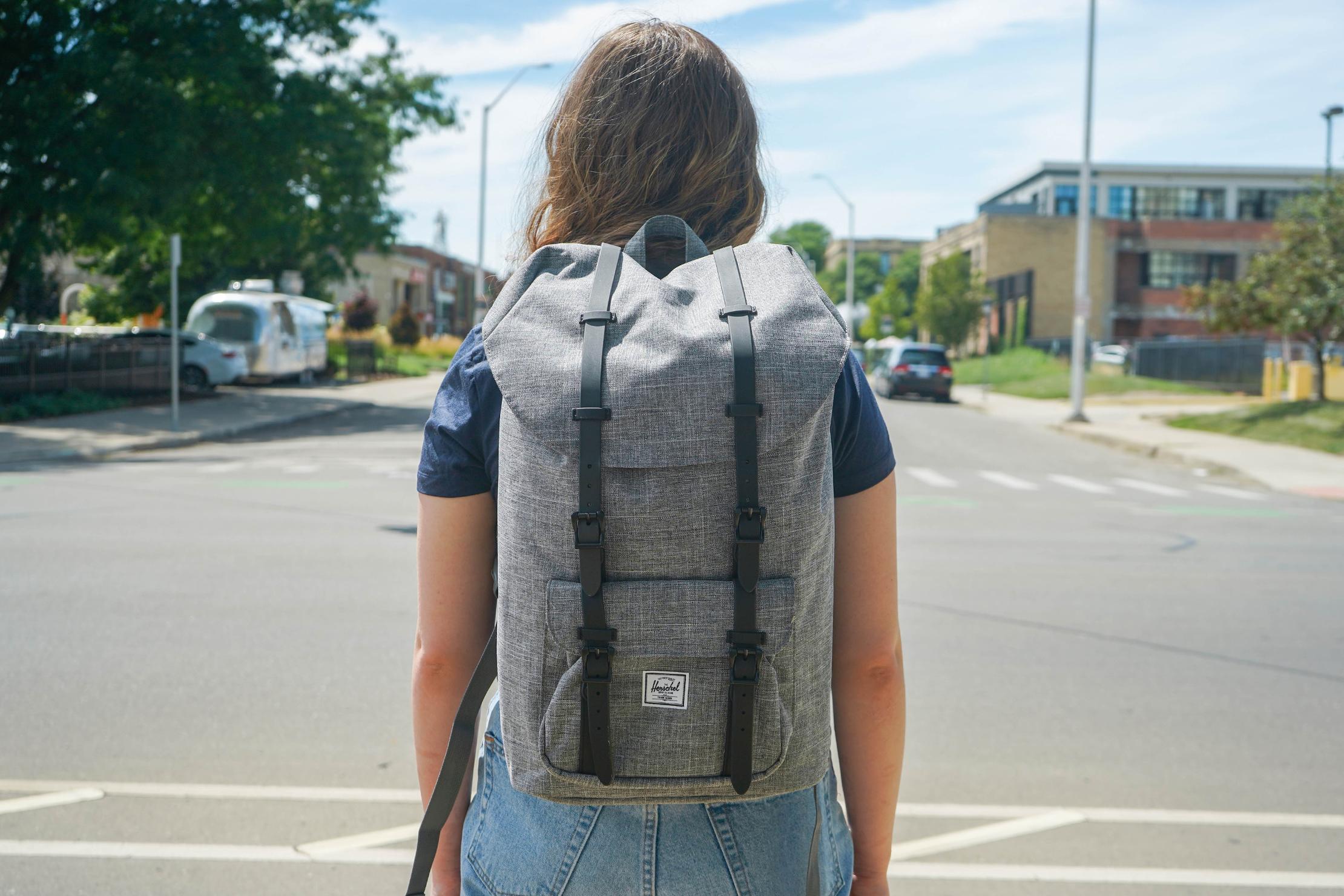 Herschel Supply Co. Little America Backpack in Detroit