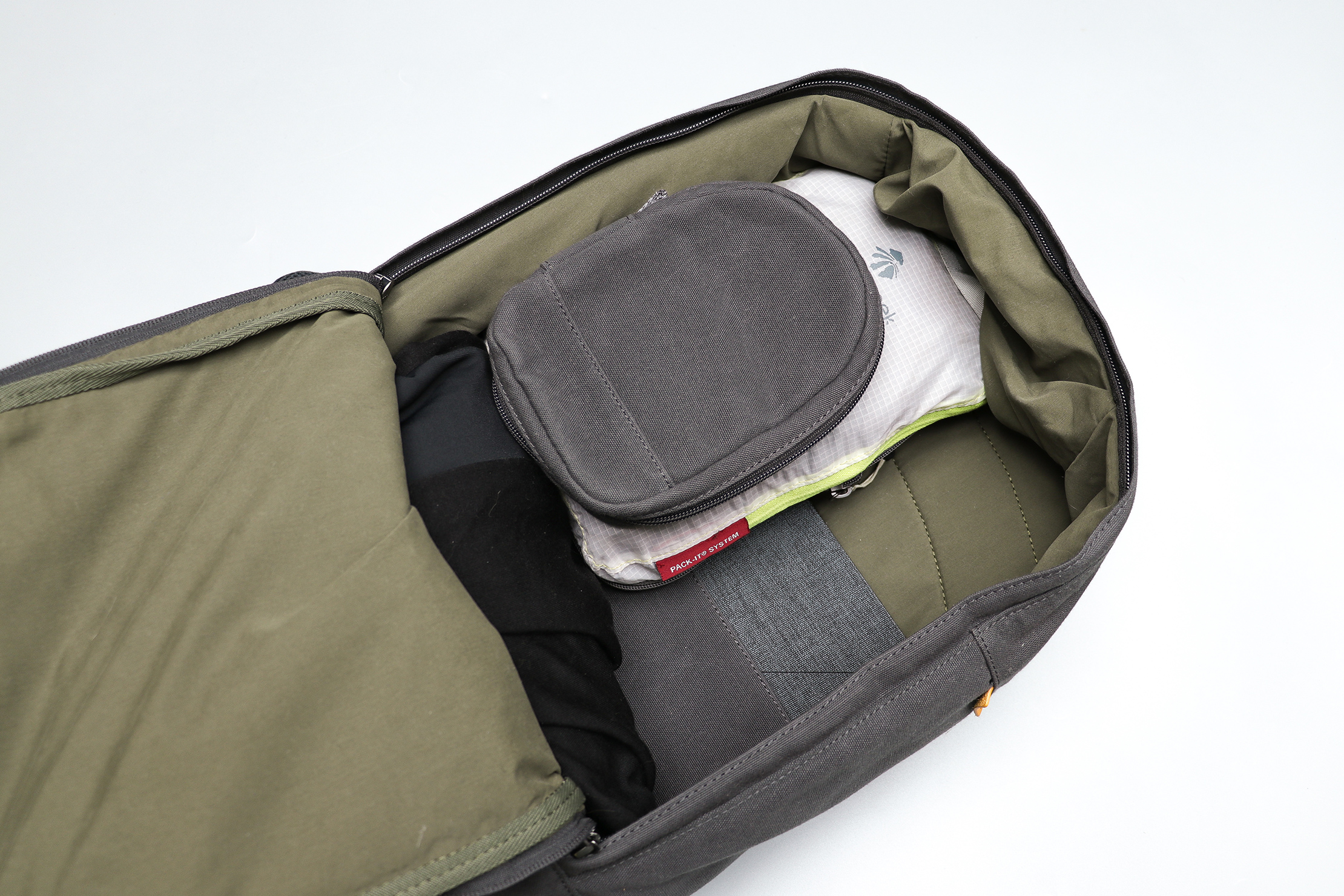 Day Owl Backpack Main Compartment