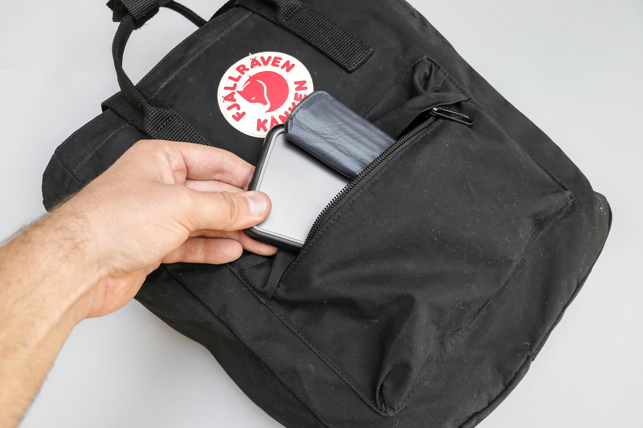 Fjallraven Kanken Totepack Front Pocket