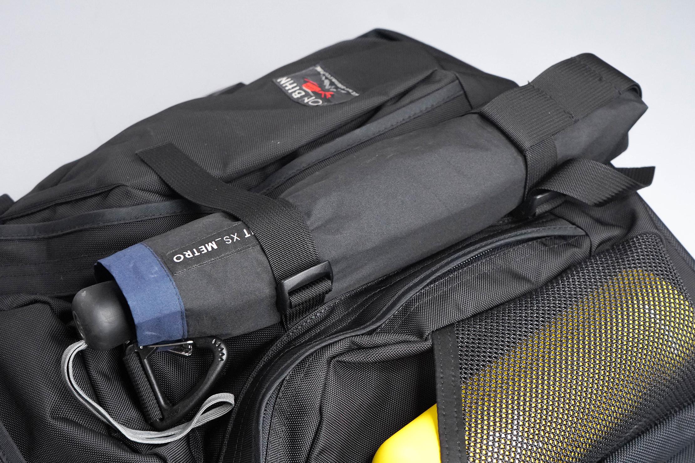 Tom Bihn Brain Bag External Storage