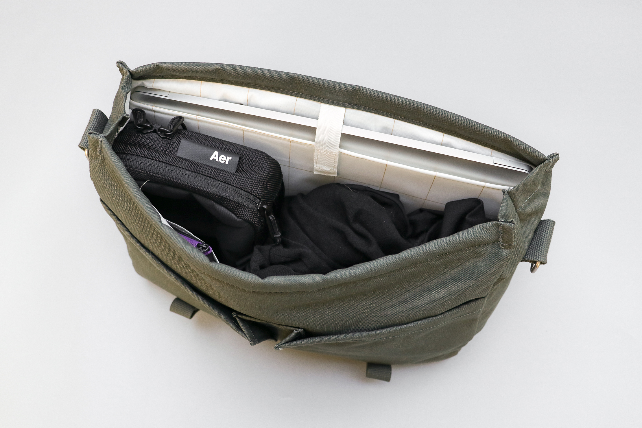 IKEA DROMSACK Messenger Bag Main Compartment