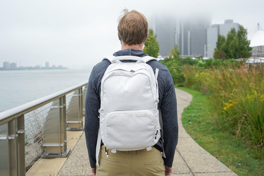 Brevitē Jumper Photo Backpack in Detroit