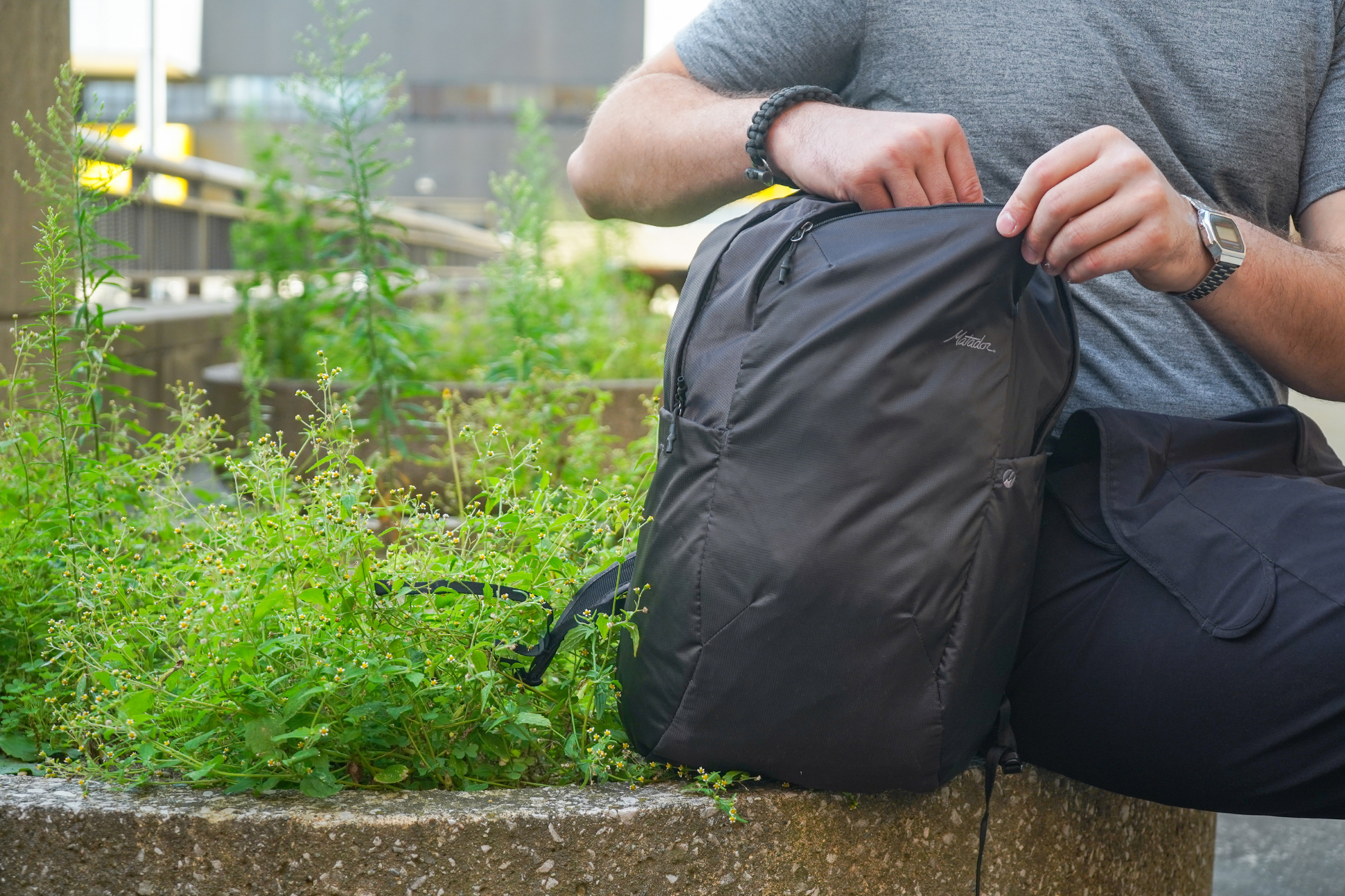 Matador On-Grid Packable Backpack in Detroit