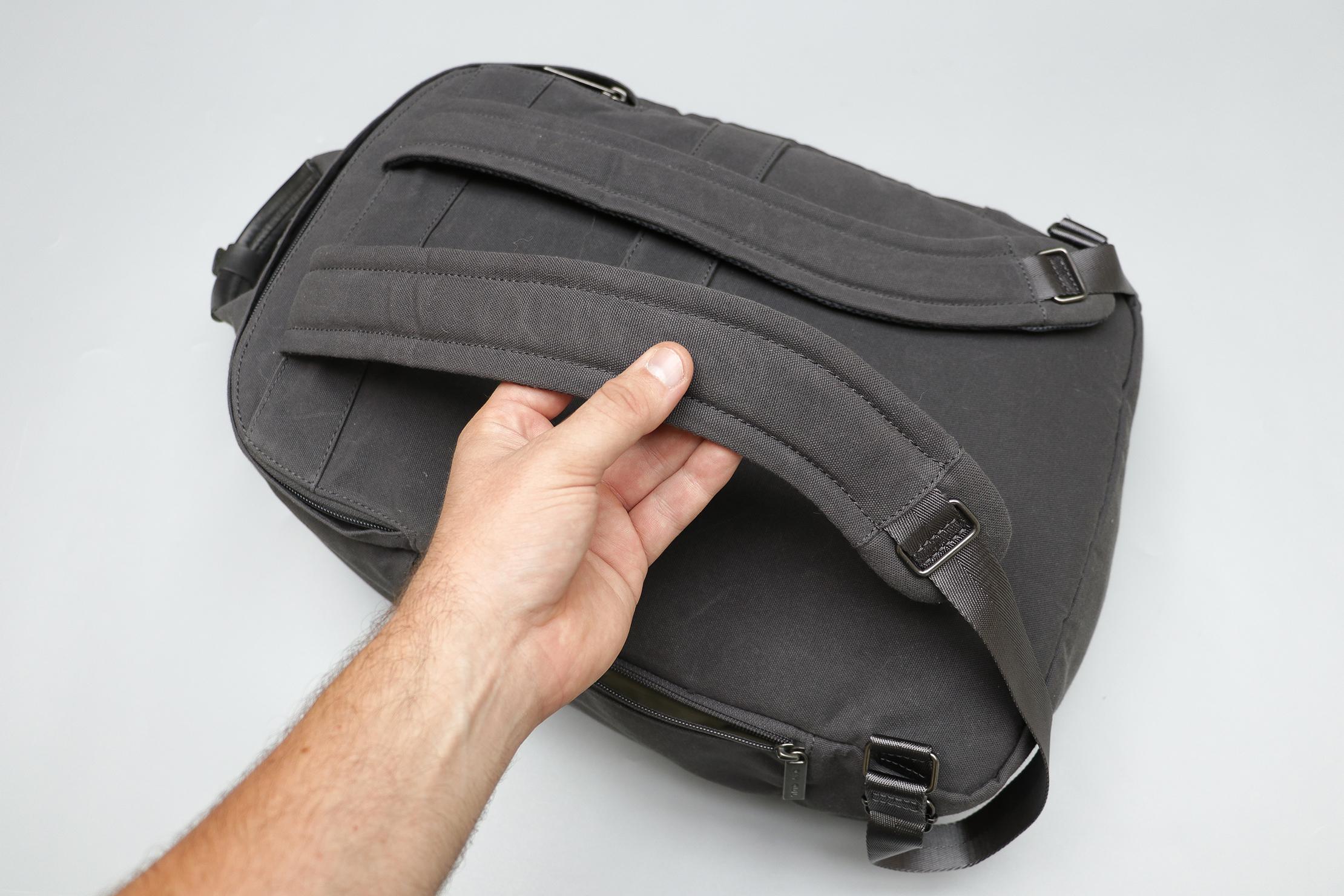 Day Owl Backpack Shoulder Straps and Back Panel