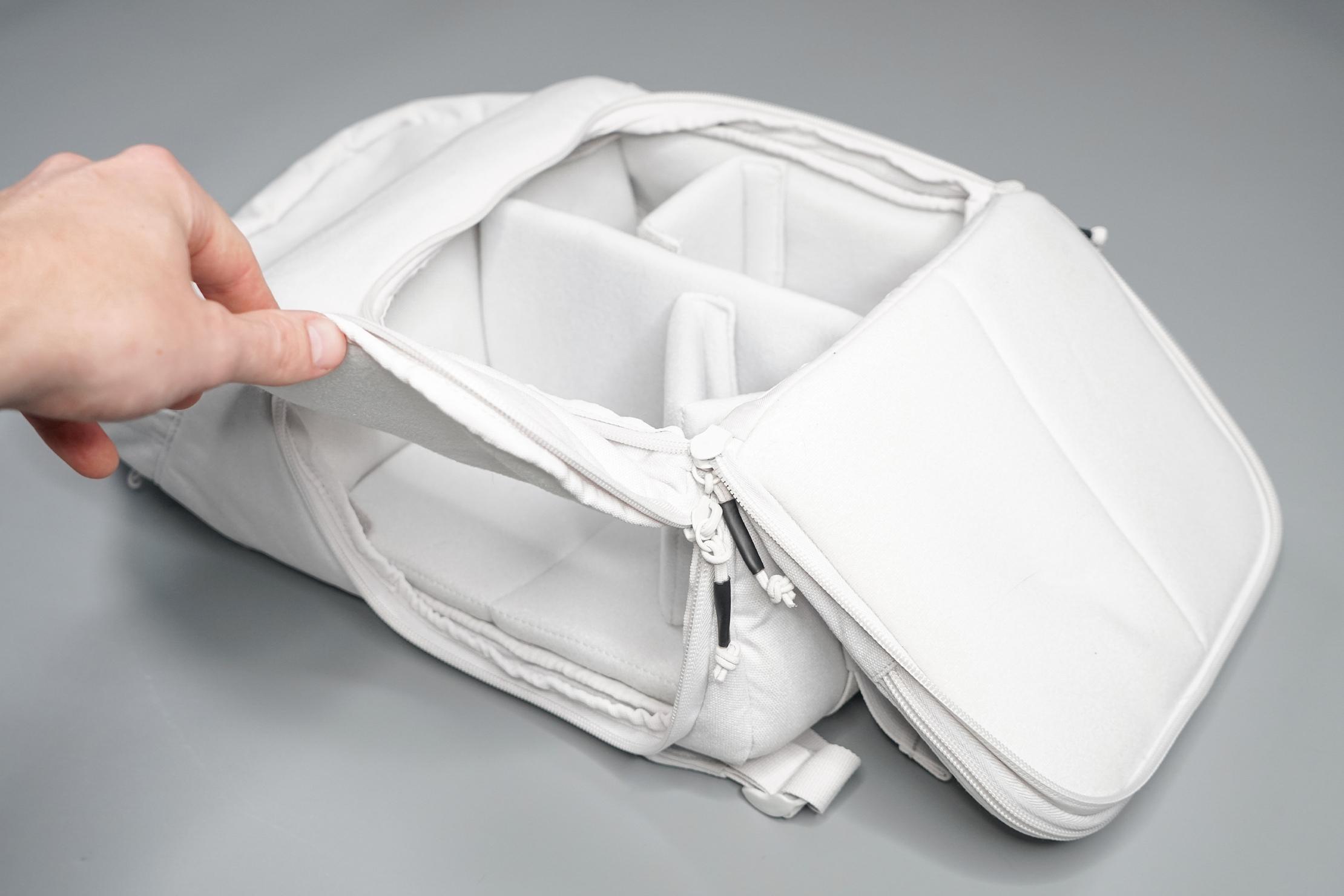 Brevitē Jumper Photo Backpack Side Access