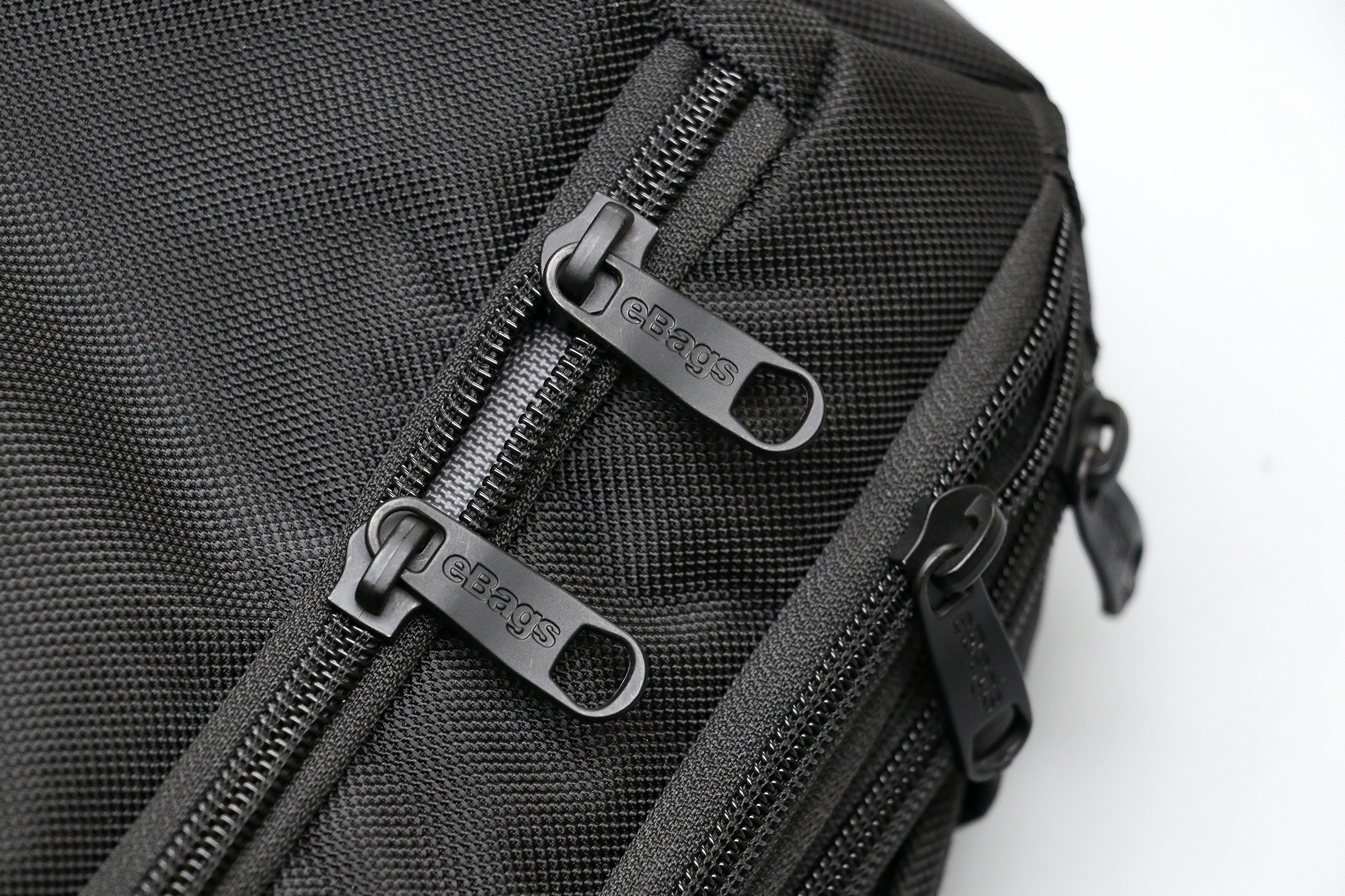 eBags Pro Slim Laptop Backpack Zippers
